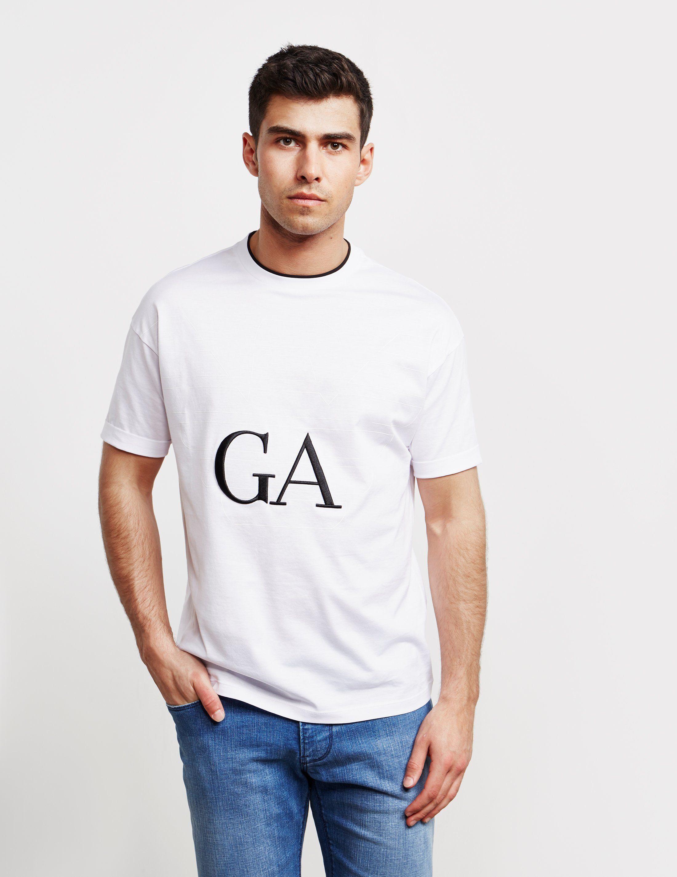 Emporio Armani GA Logo Short Sleeve T-Shirt