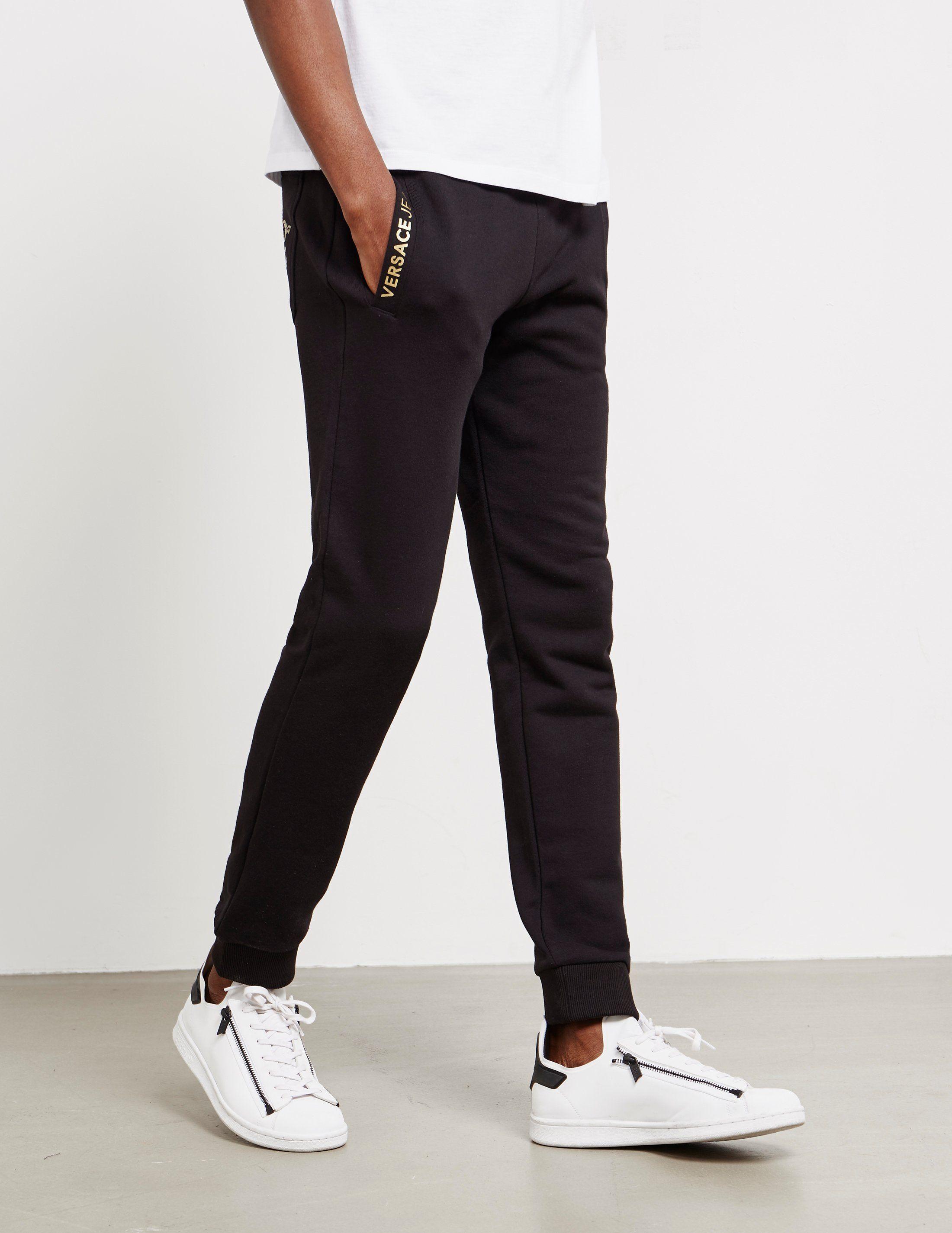 Versace Jeans Foil Logo Fleece Pants