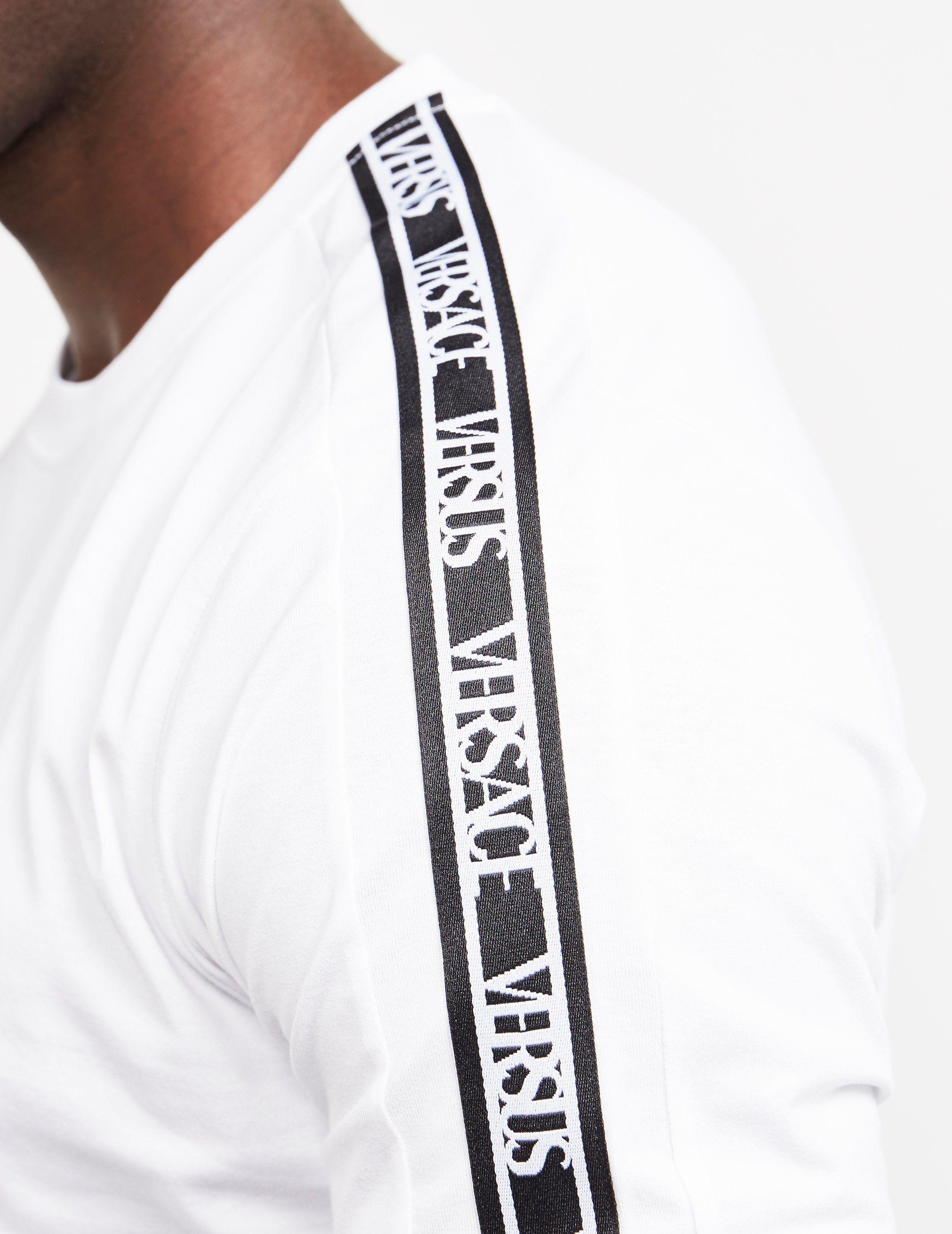 Versus Versace Tape Short Sleeve T-Shirt