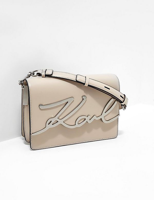 03c3cb1b6c0d Karl Lagerfeld Signature Shoulder Bag