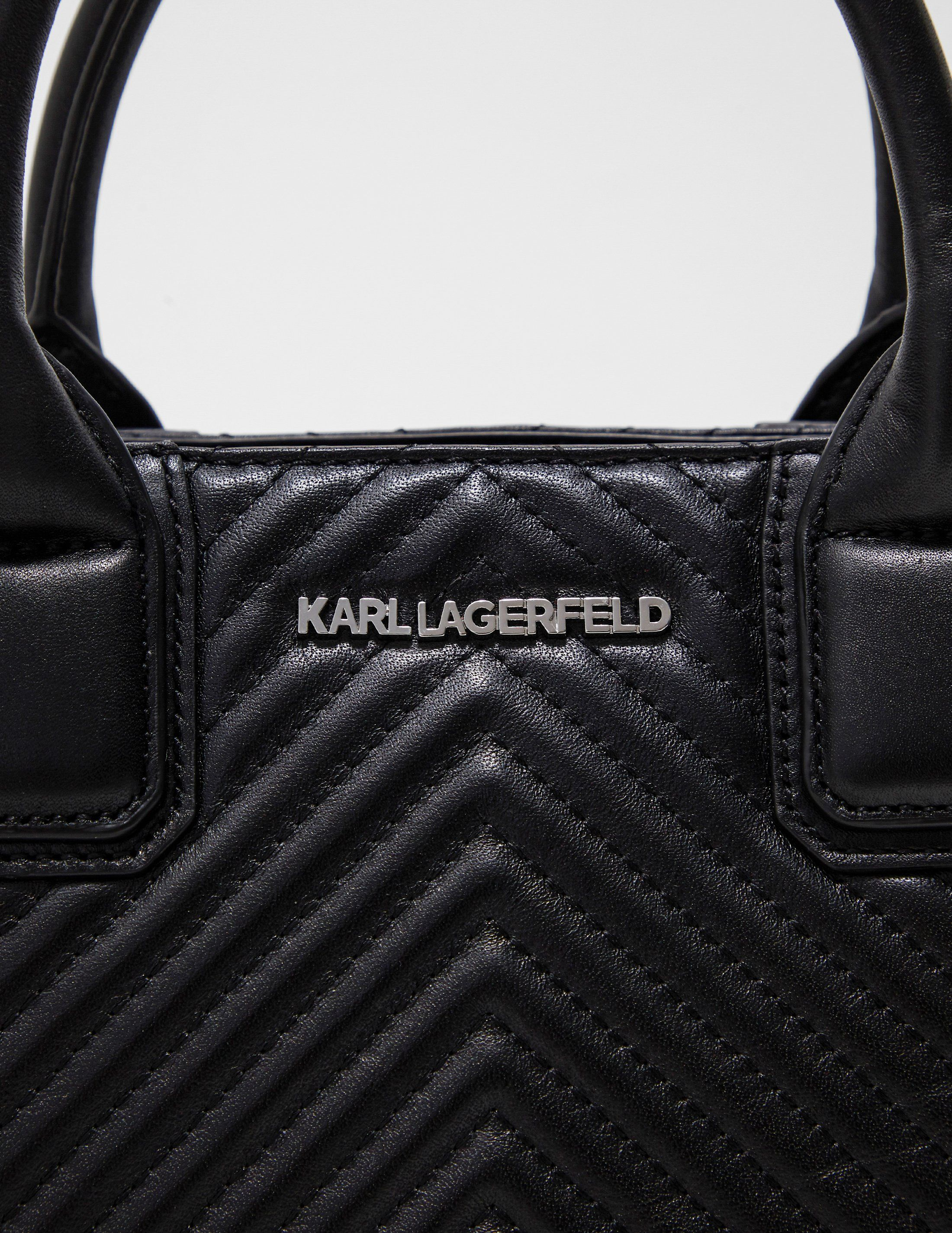 Karl Lagerfeld Quilted Tote Bag