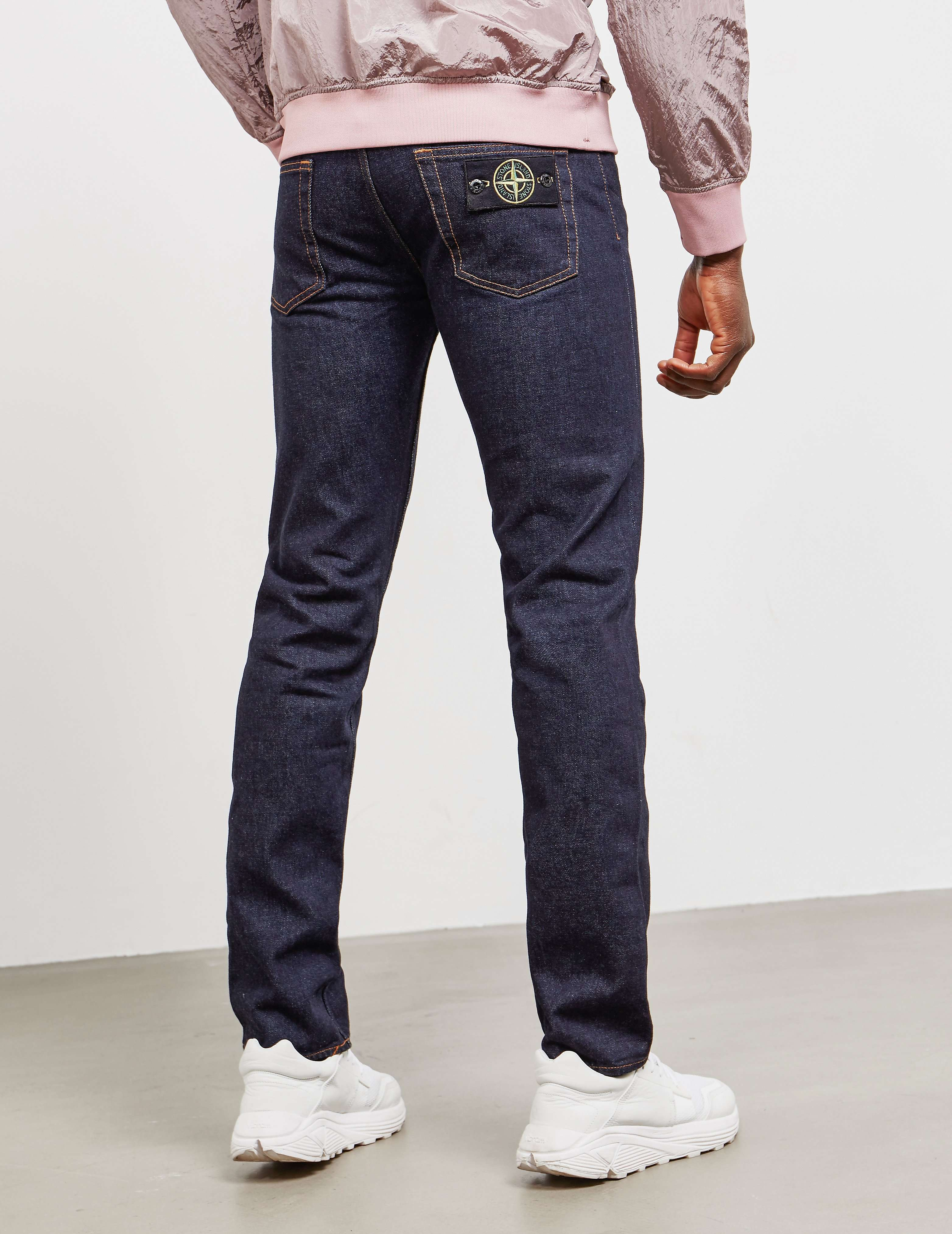 stone island slim fit jeans long tessuti. Black Bedroom Furniture Sets. Home Design Ideas