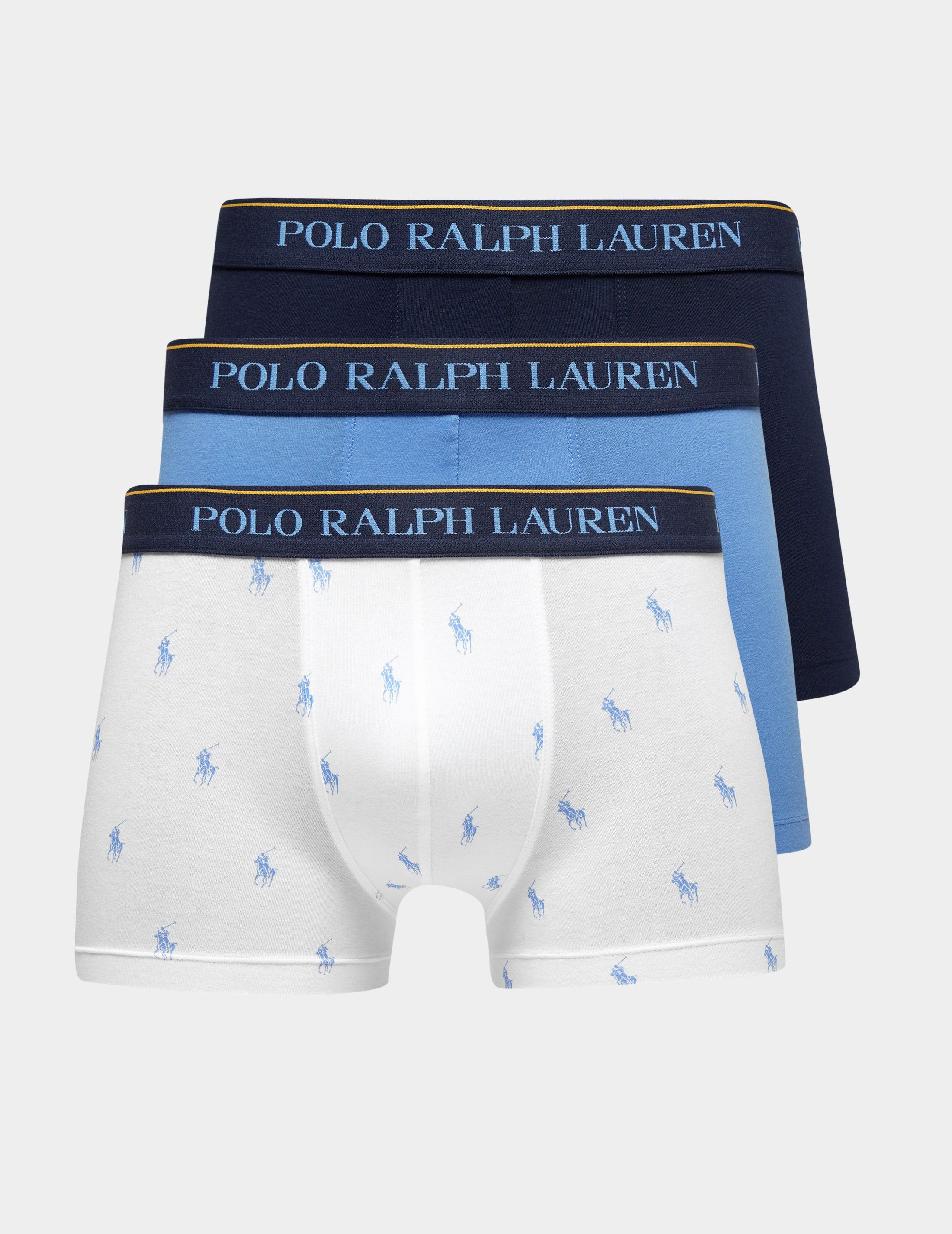 Polo Ralph Lauren 3-Pack Print Boxer Shorts