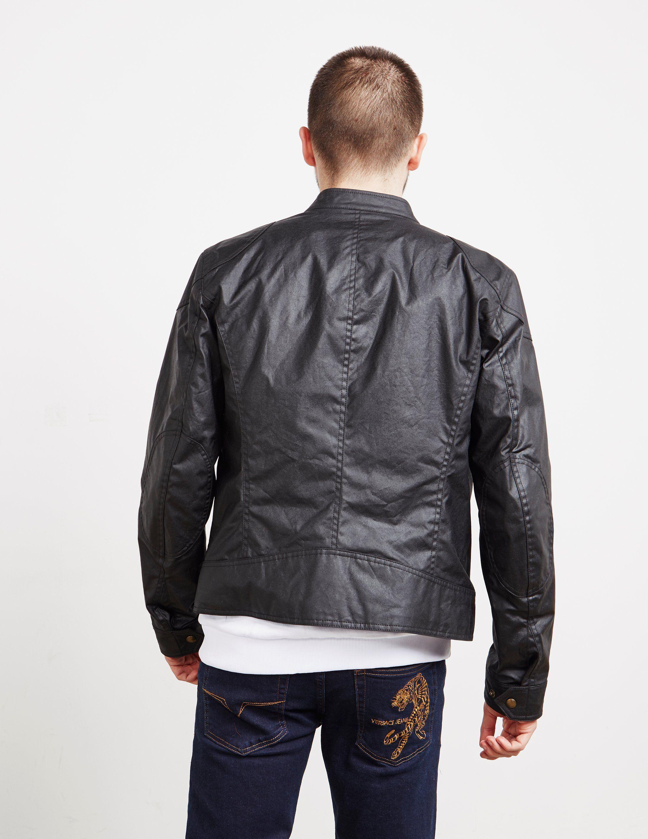 Belstaff Wax Bomber Jacket
