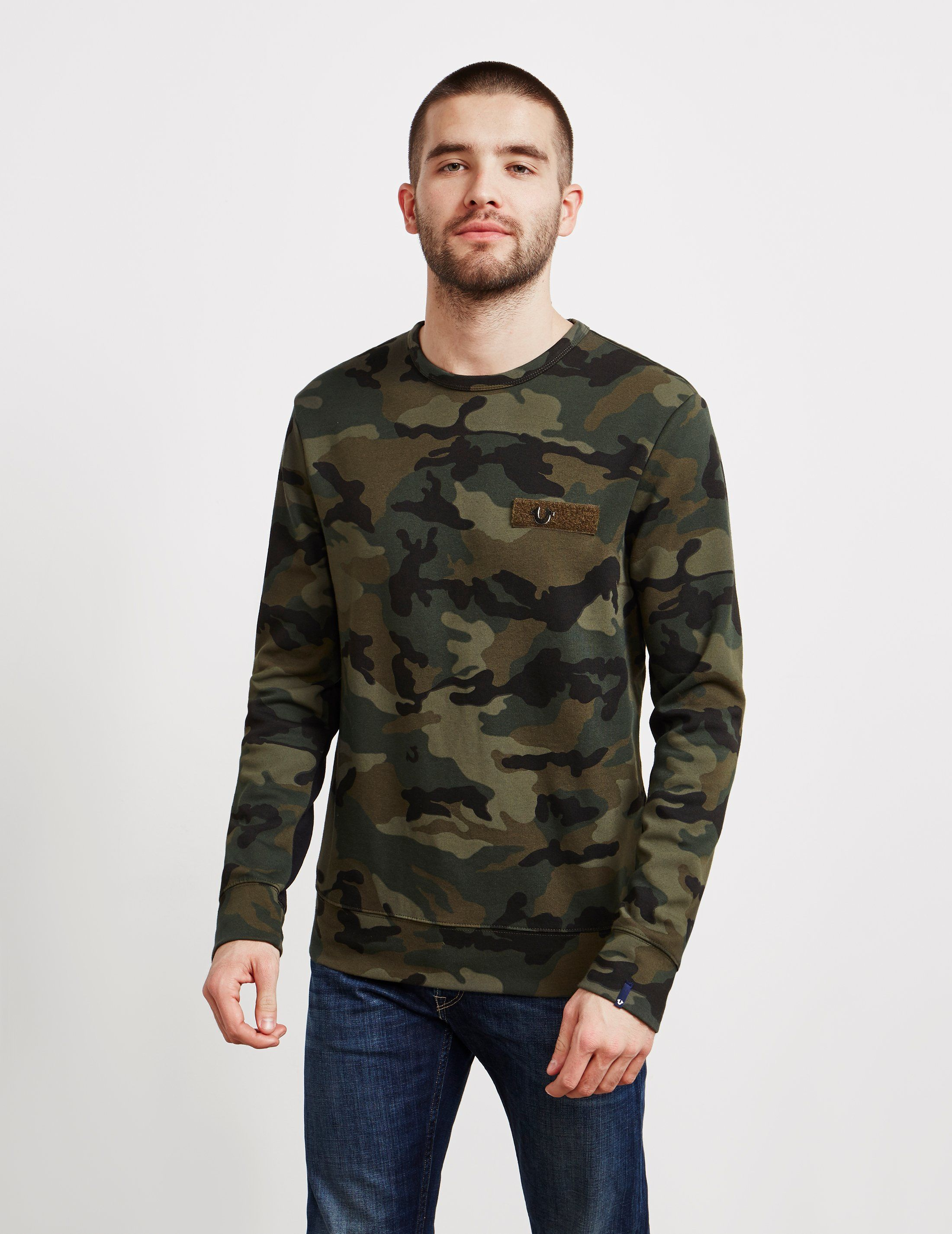 True Religion Pinshoe Sweatshirt