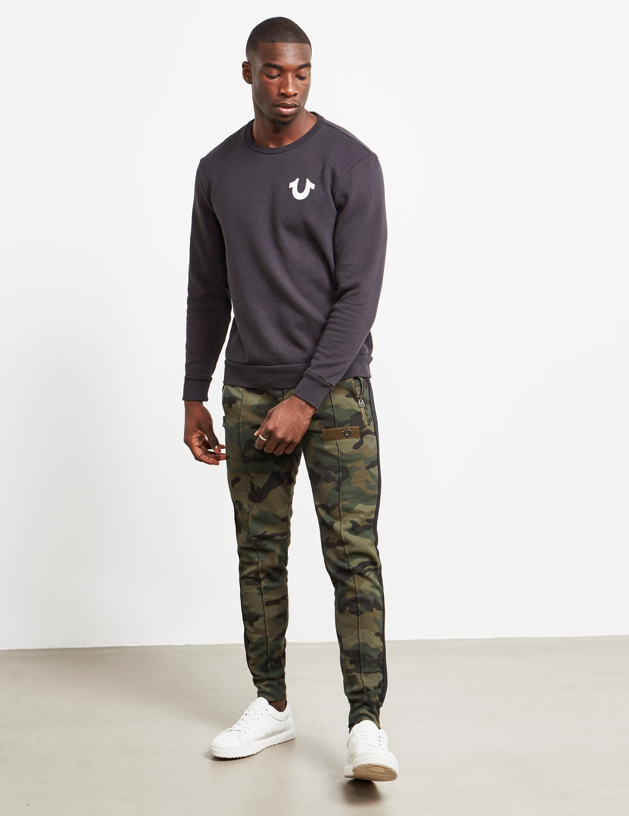 True Religion Camouflage Track Pants