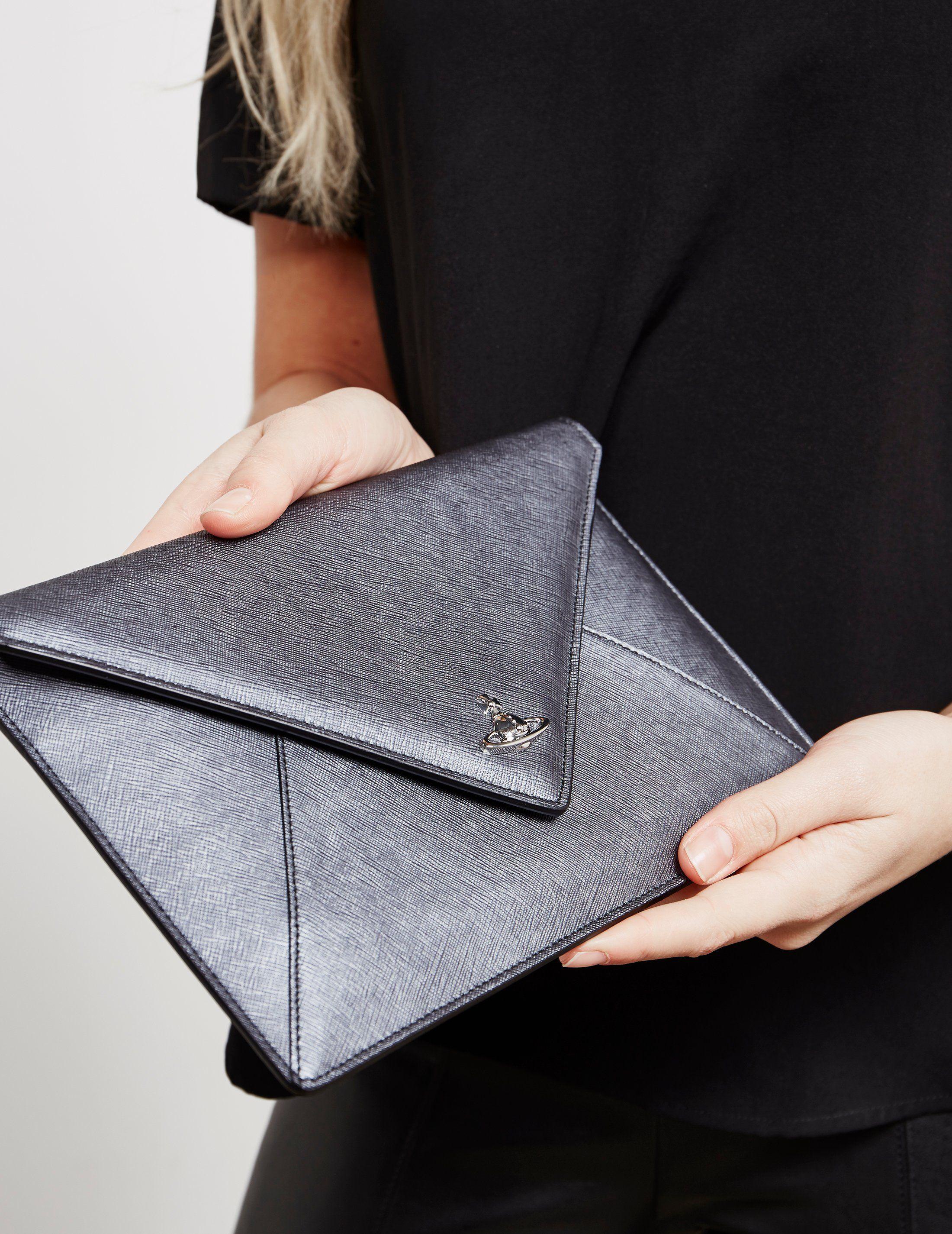 Vivienne Westwood Envelope Clutch Bag