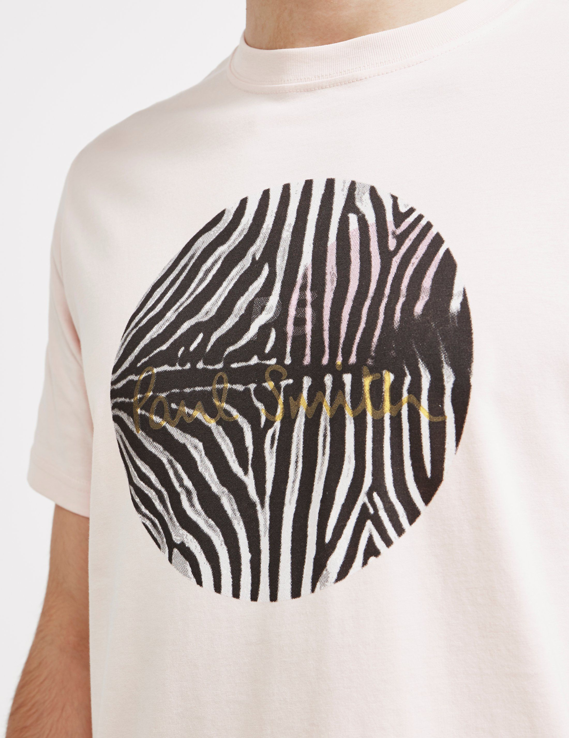 PS Paul Smith Zebra Circle Short Sleeve T-Shirt