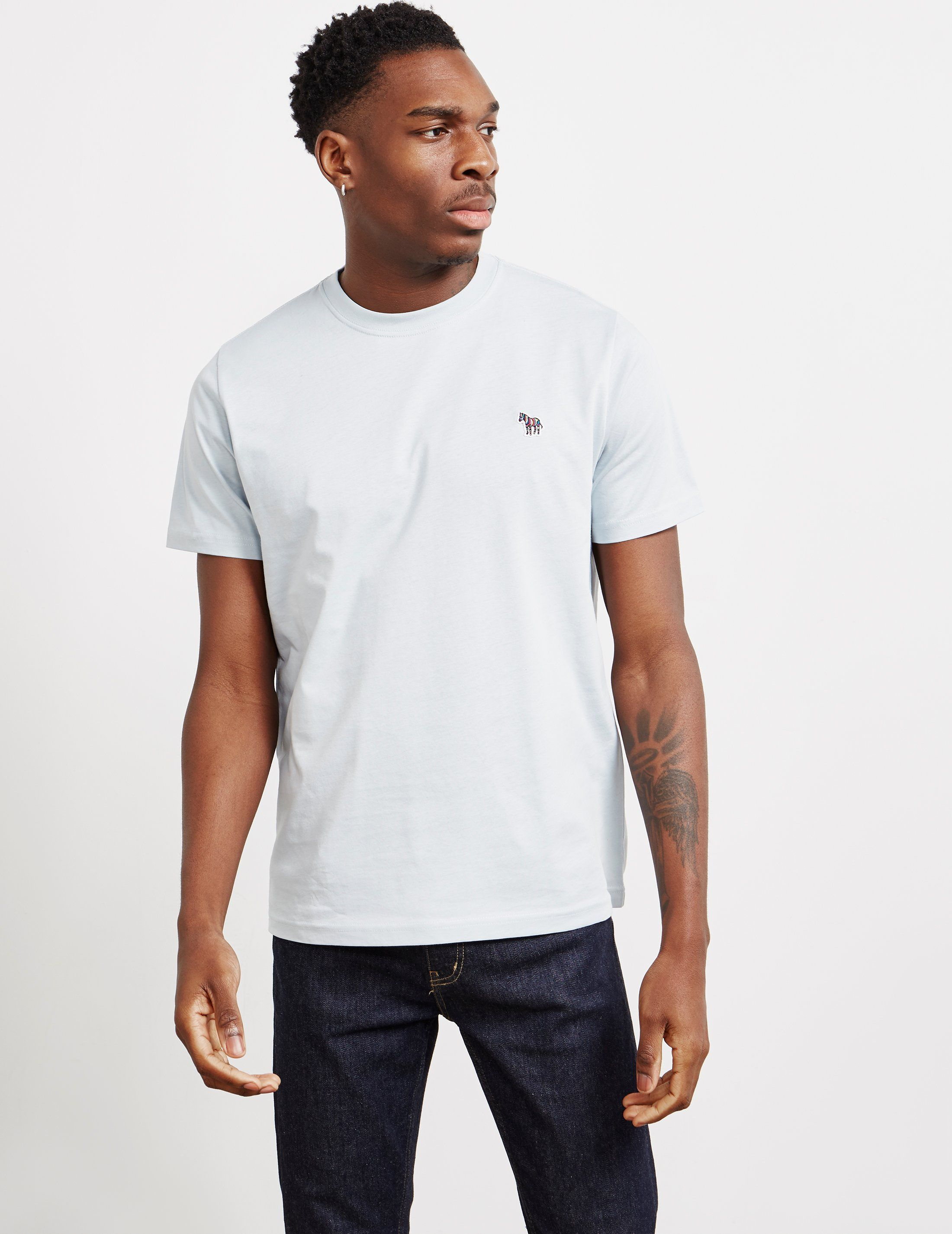 PS Paul Smith Basic Zebra Short Sleeve T-Shirt
