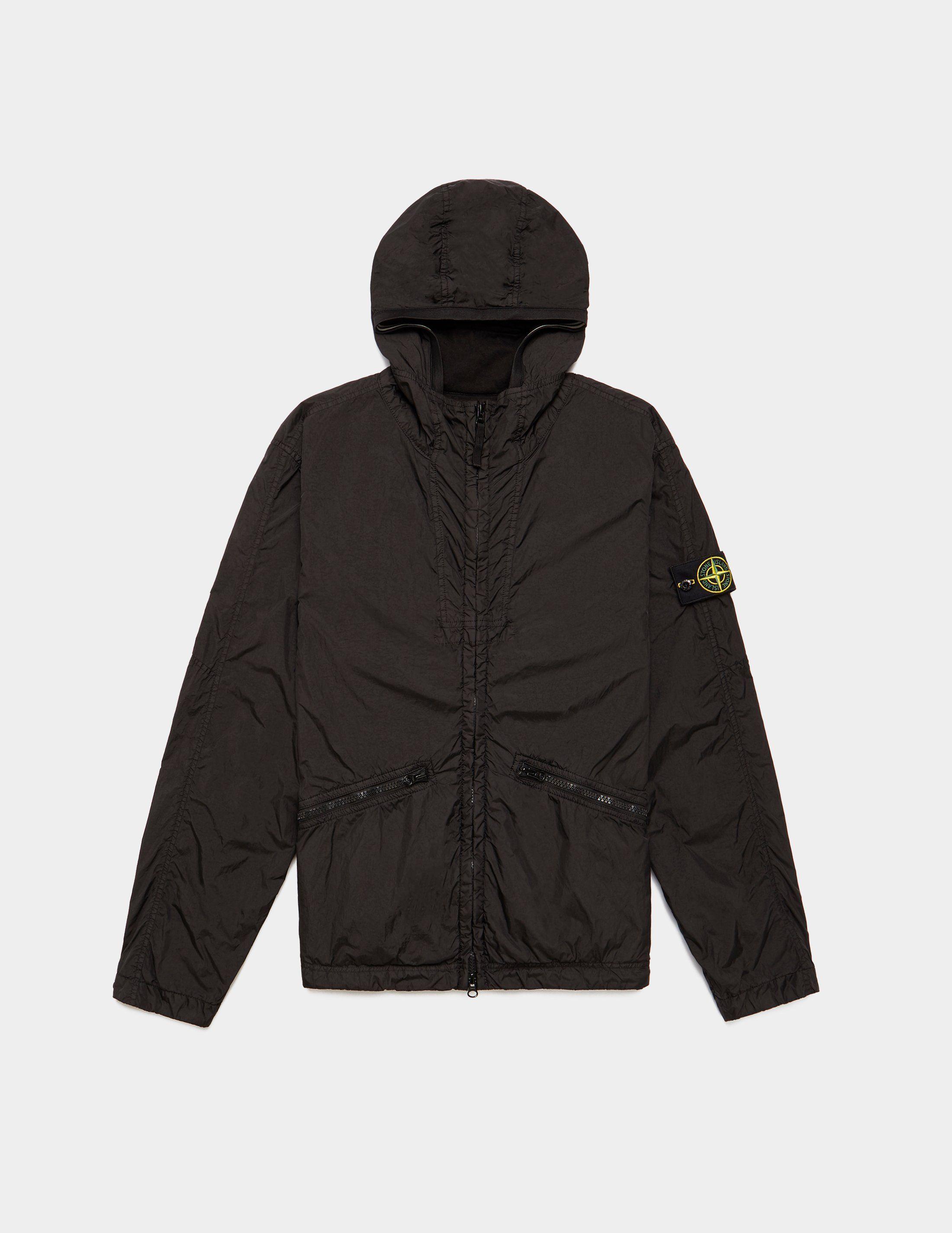 Stone Island Garment Dyed Crinkle Padded Jacket