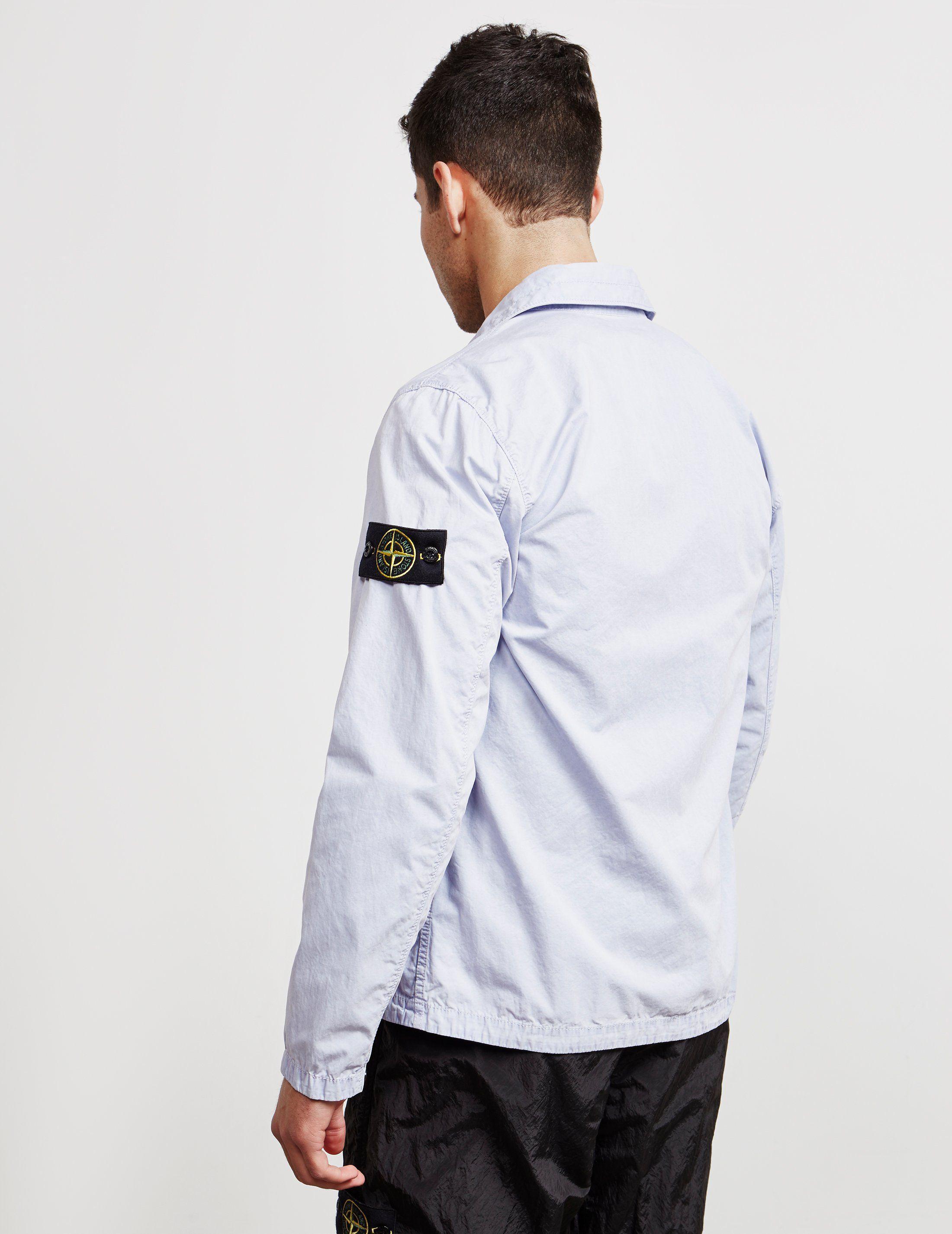 Stone Island Garment Dyed Pocket Overshirt
