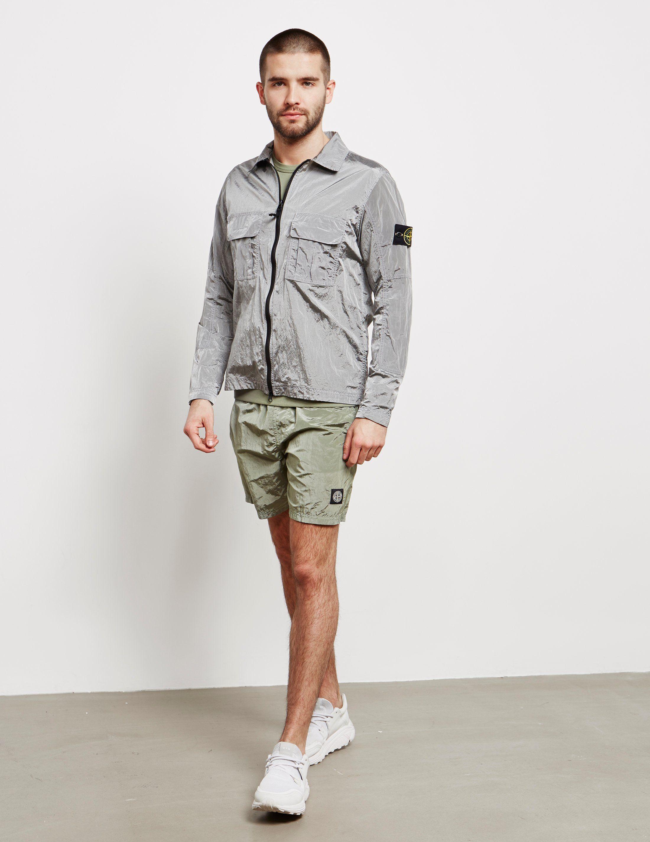 Stone Island Nylon Metal Overshirt