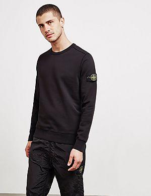 Stone Island Badge Sweatshirt ... f76721bd4b