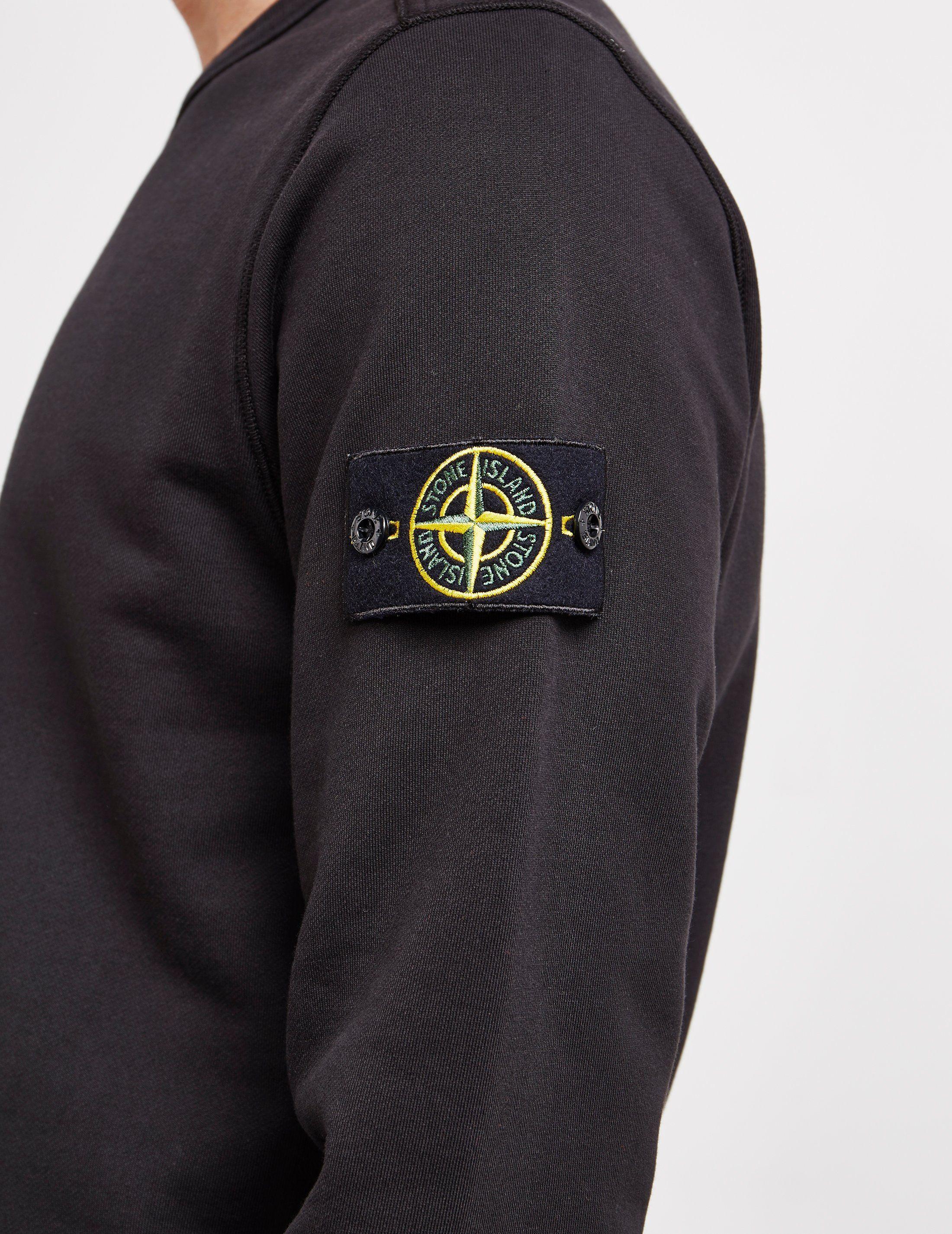 Stone Island Badge Sweatshirt