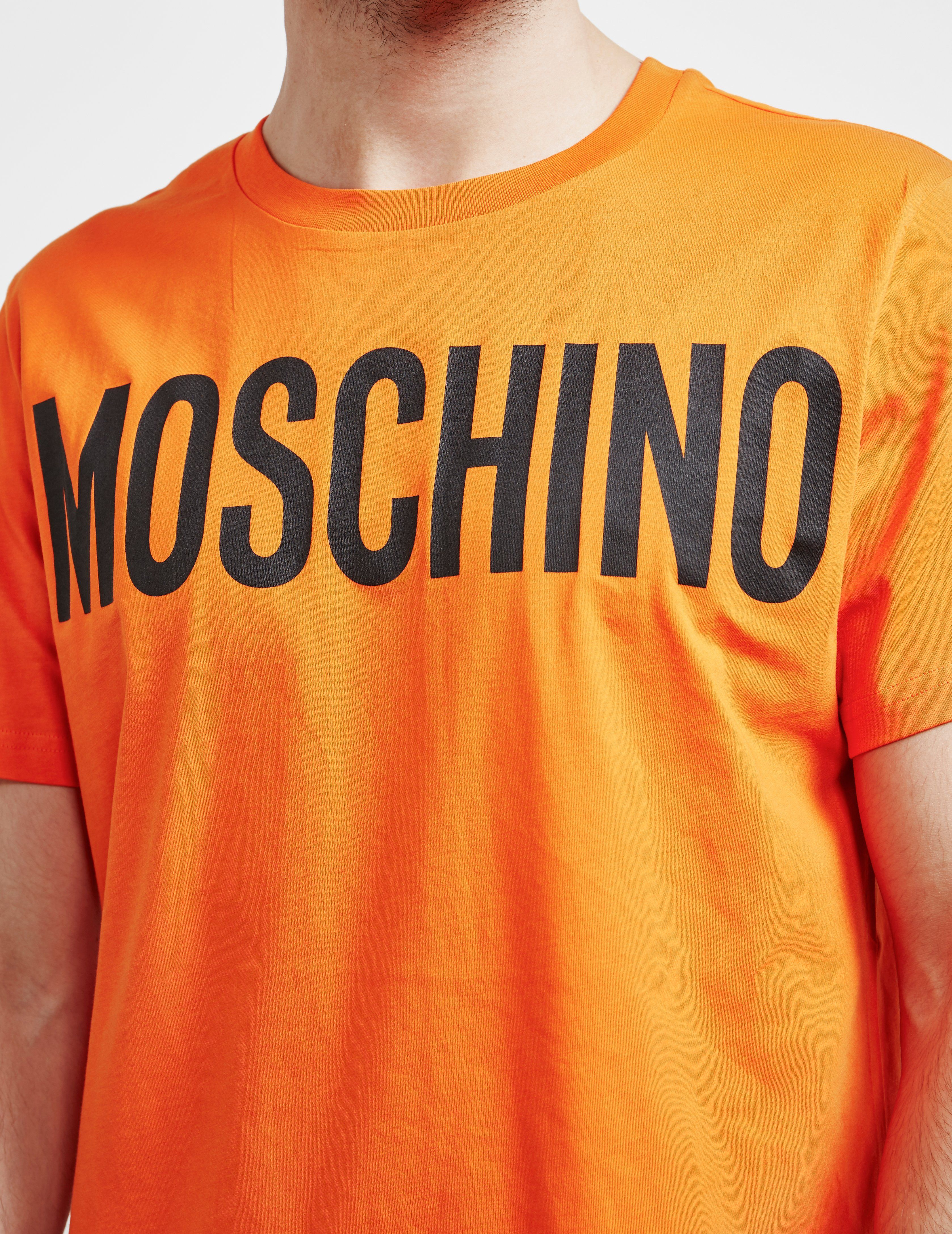 Moschino Block Short Sleeve T-Shirt