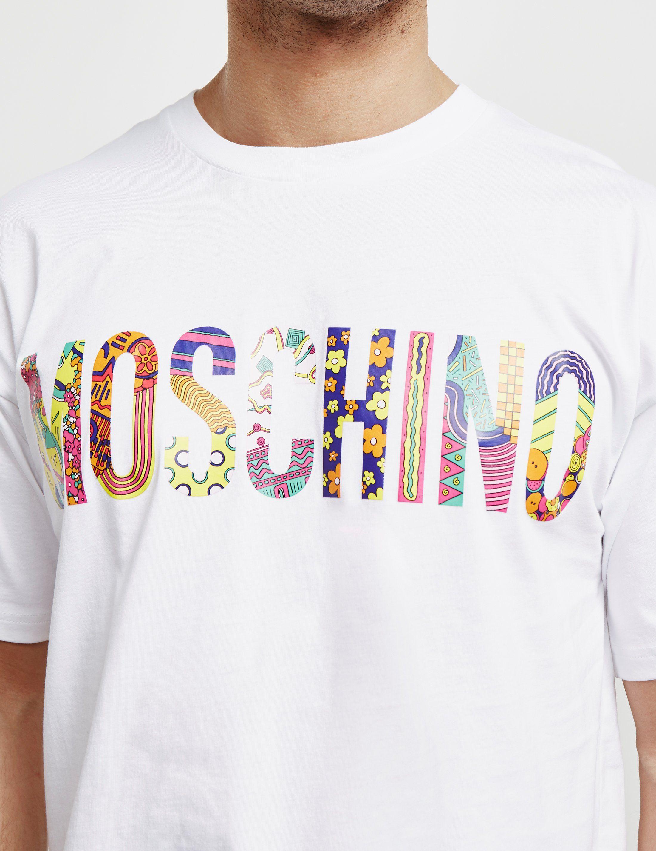 Moschino Retro Short Sleeve T-Shirt