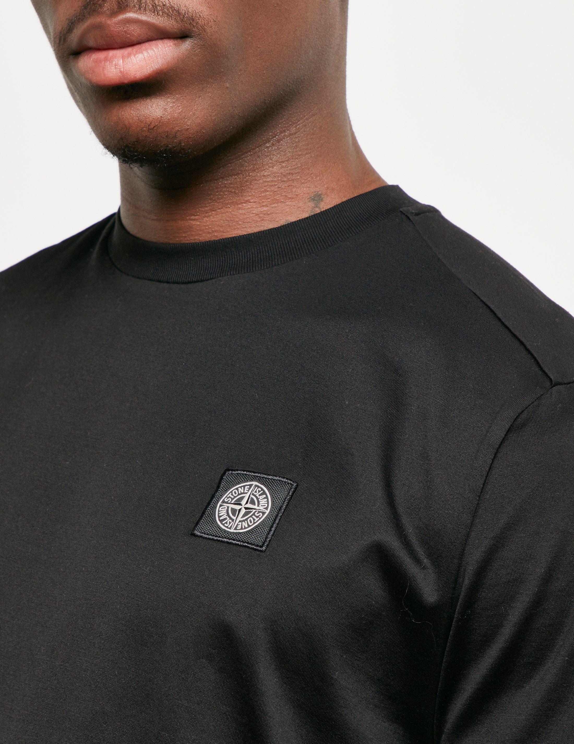Stone Island Patch Short Sleeve T-Shirt