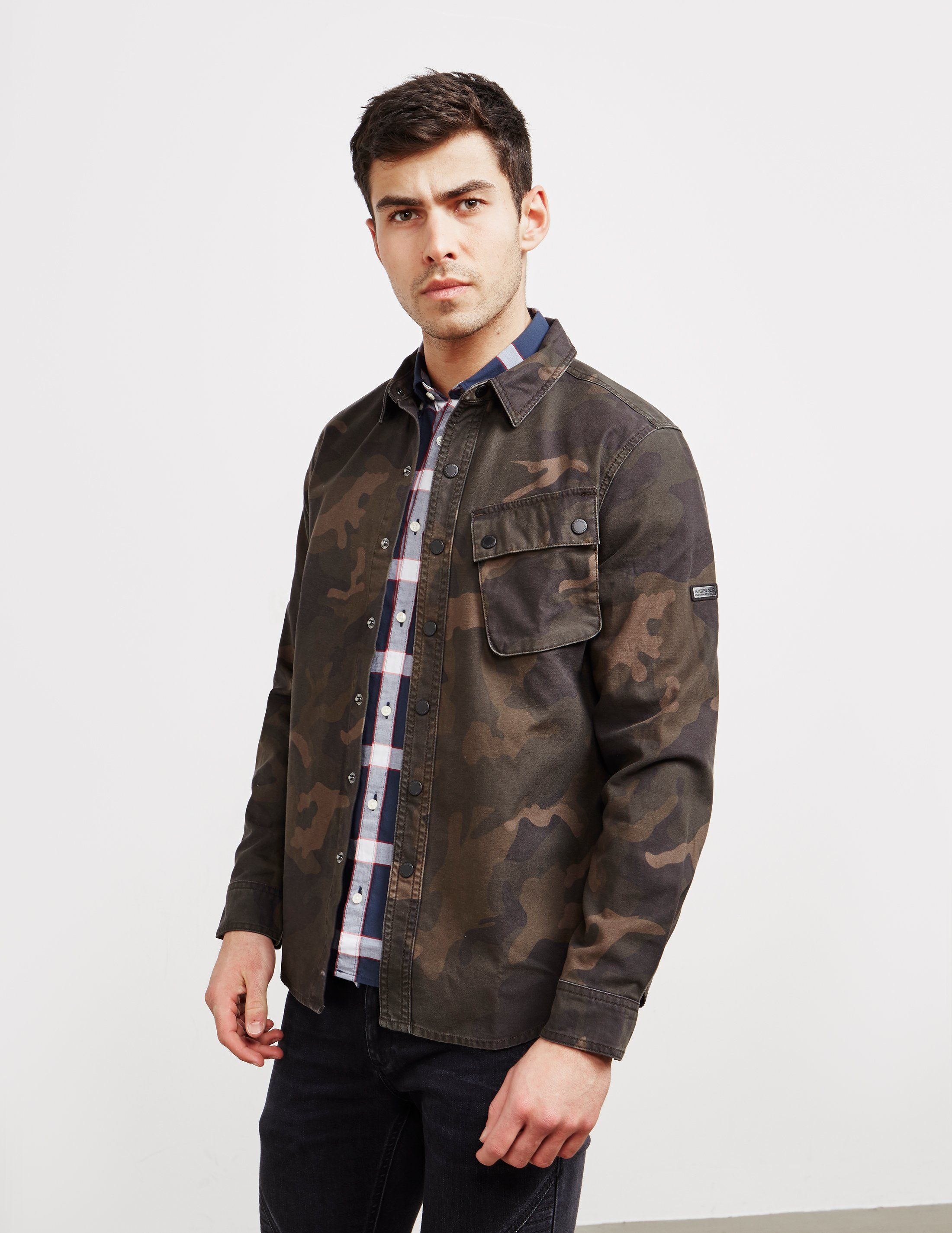 Barbour International Camouflage Overshirt