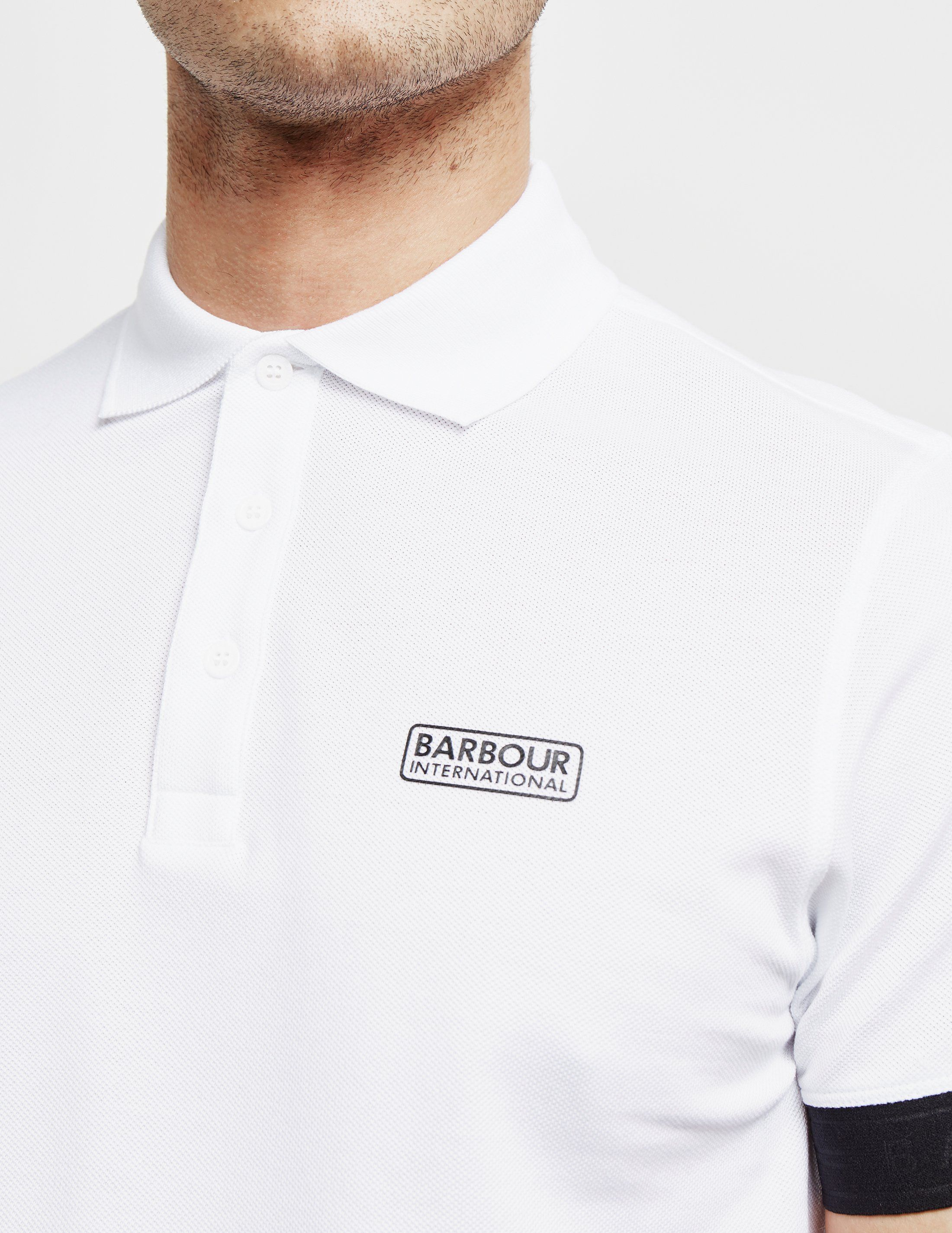 Barbour International Rake Tech Short Sleeve Polo Shirt