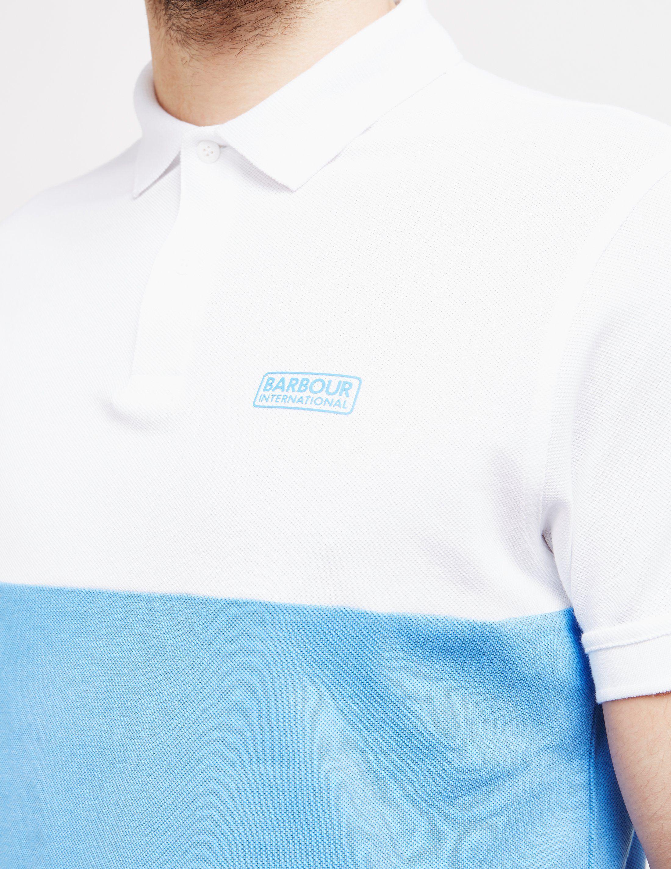 Barbour International Cotter Short Sleeve Polo Shirt