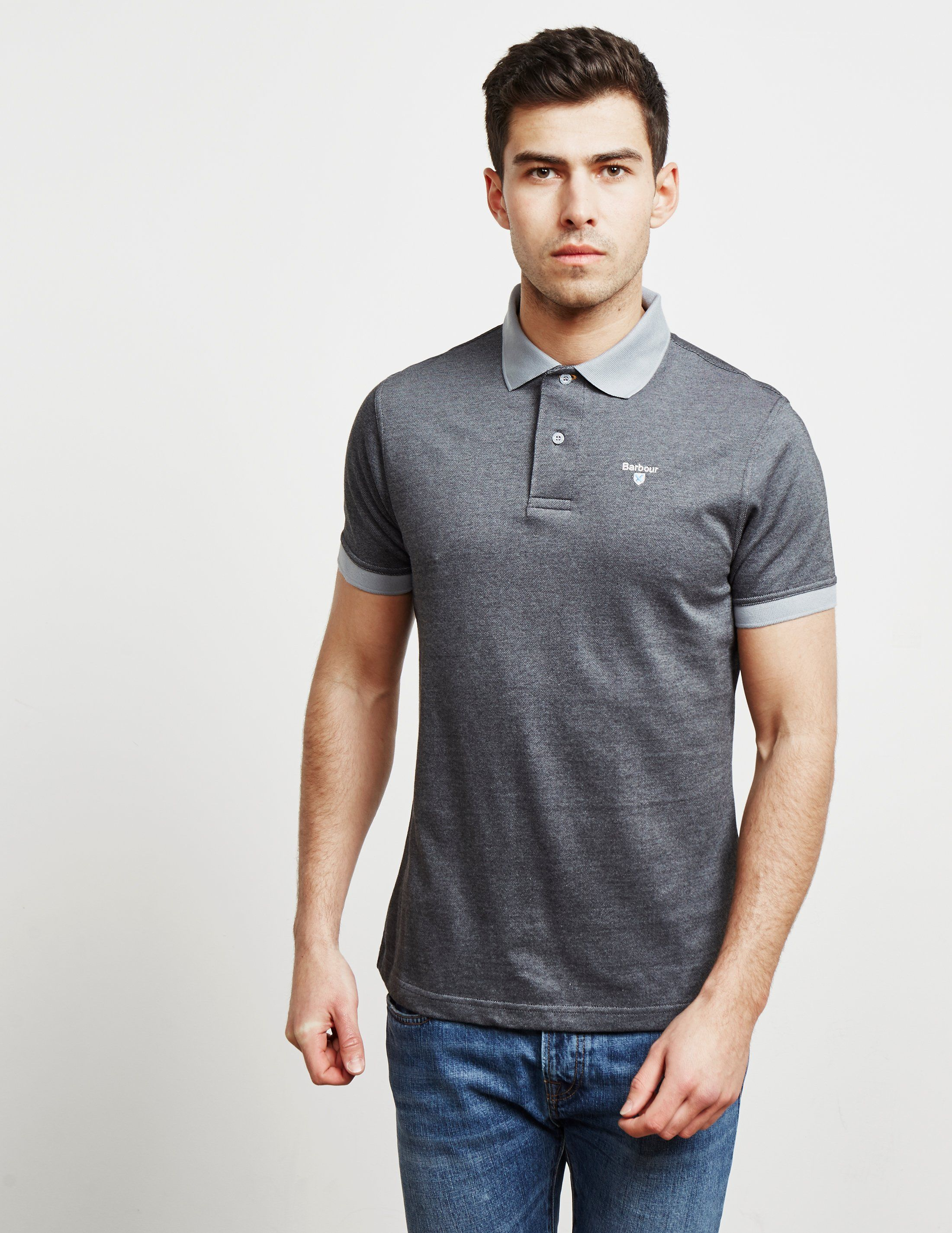 Barbour Birds Flint Short Sleeve Polo Shirt