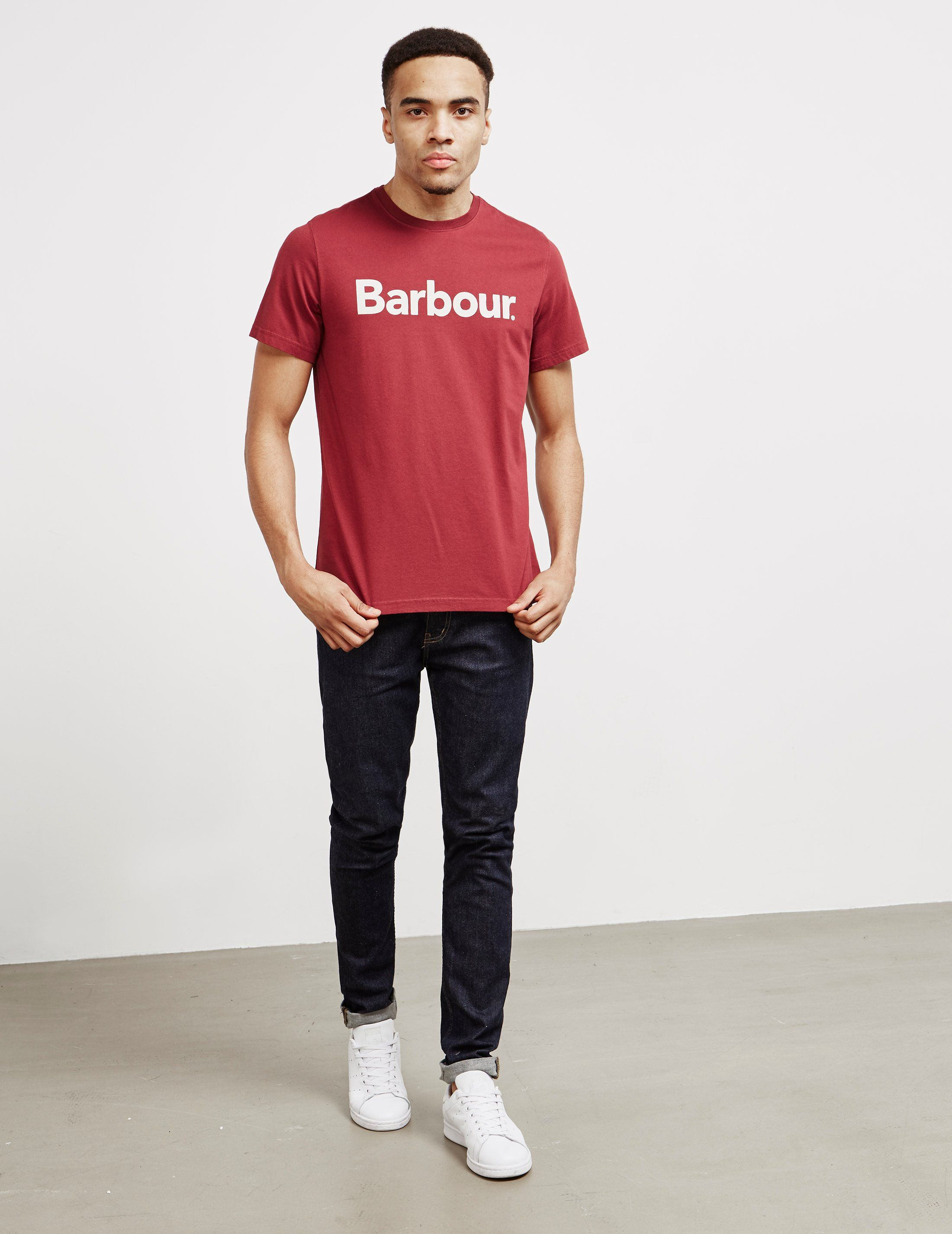 Barbour Large Logo Short Sleeve T-Shirt