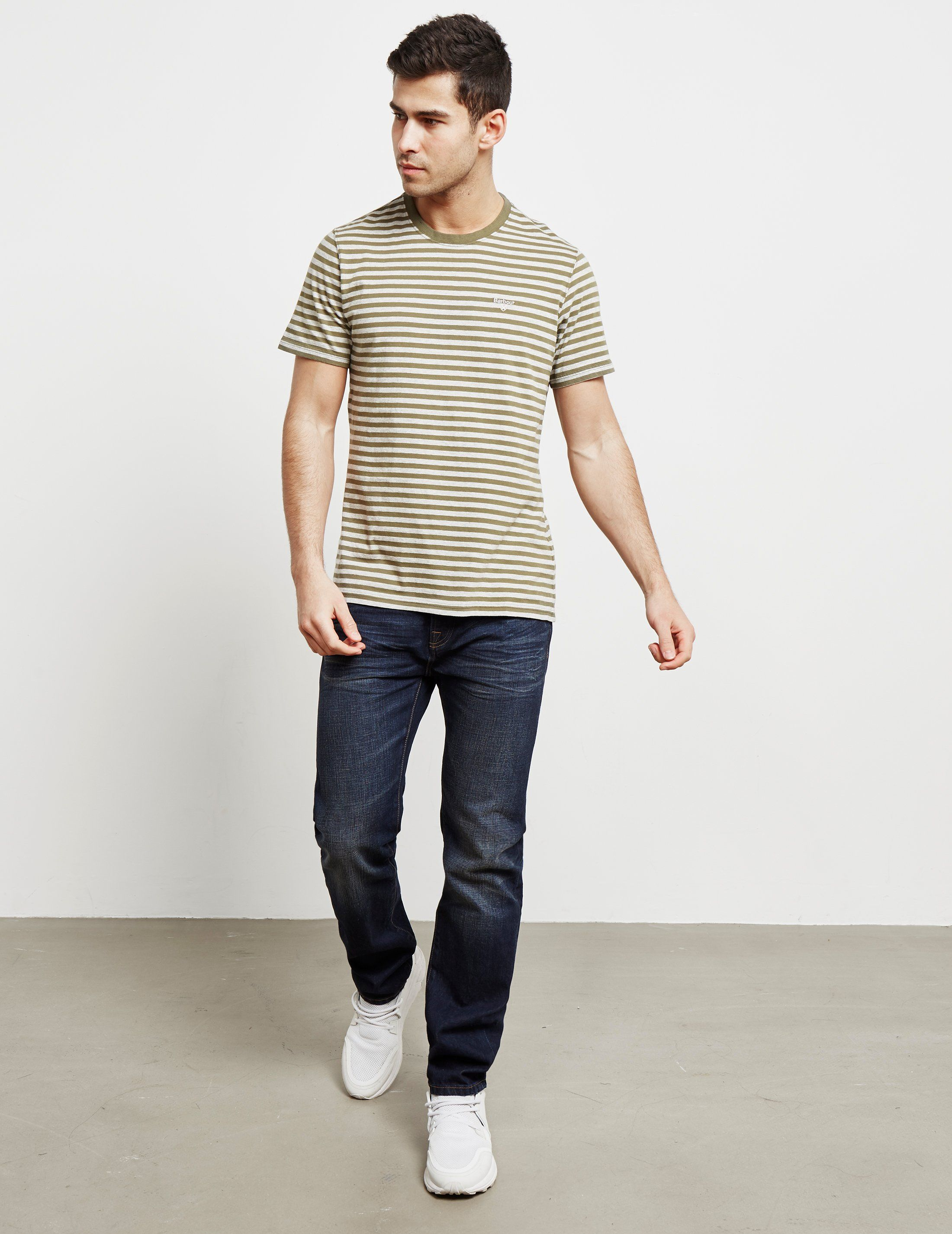 Barbour Delamere Short Sleeve Stripe T-Shirt