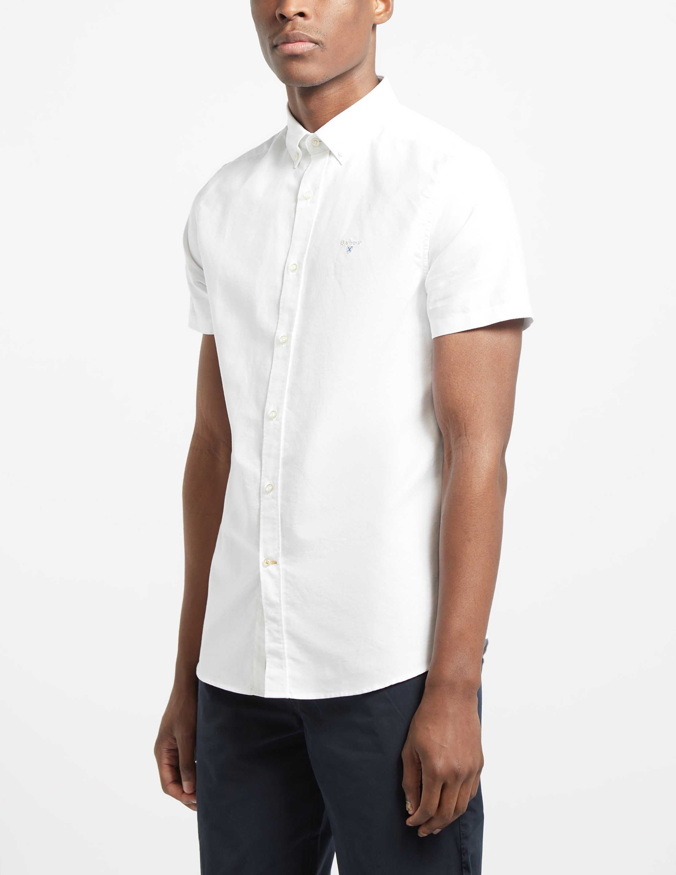 Barbour Short Sleeve Oxford Shirt