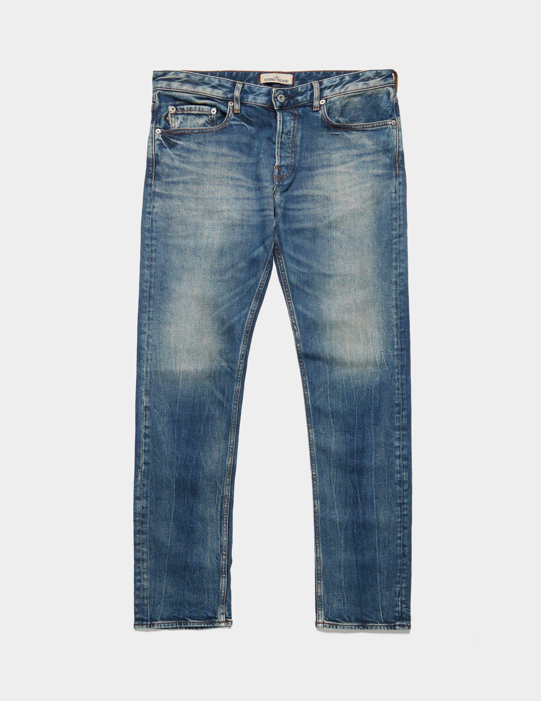 Stone Island Regular Washed Jeans