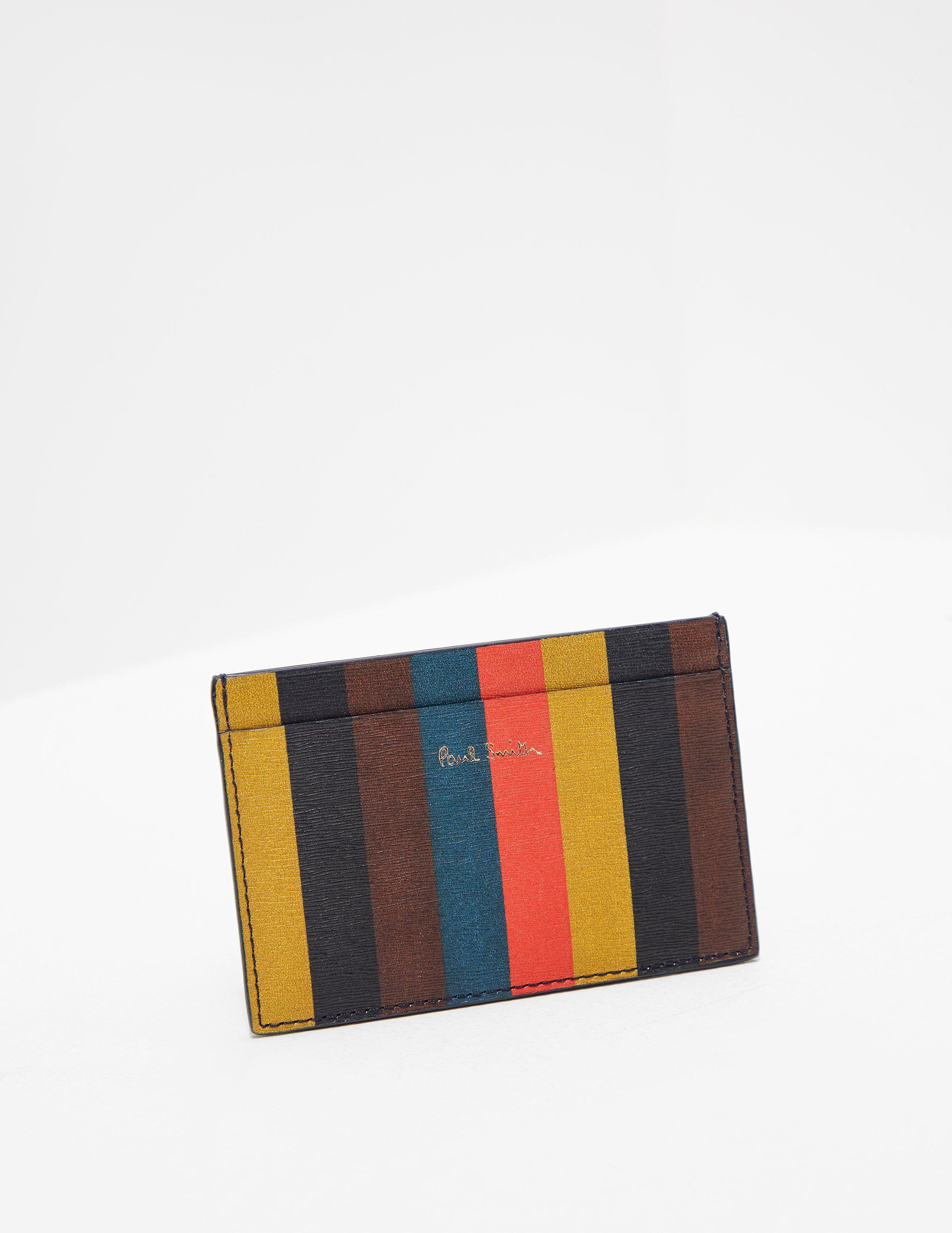 PS Paul Smith Stripe Card Holder