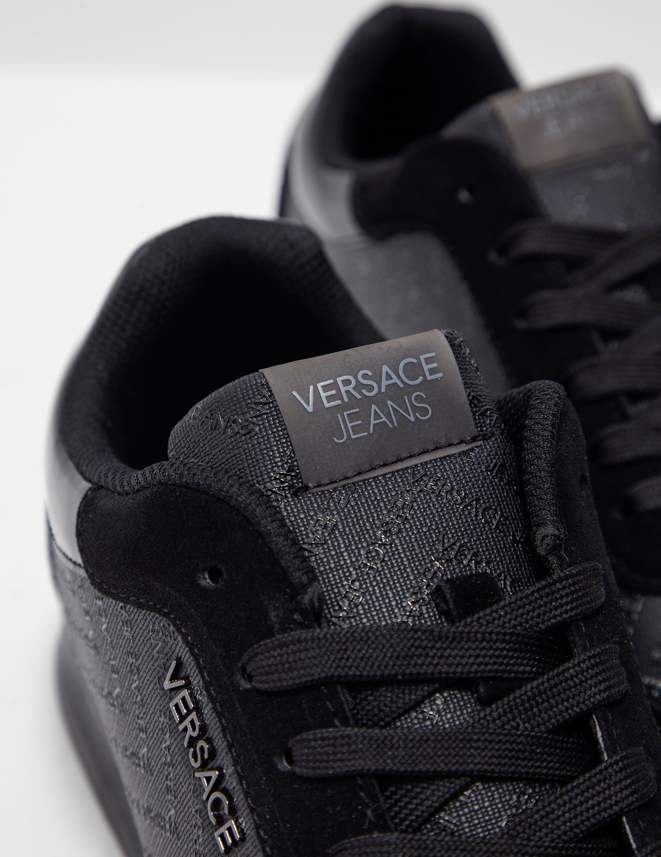 Versace Jeans Chevron Logo Print Trainers
