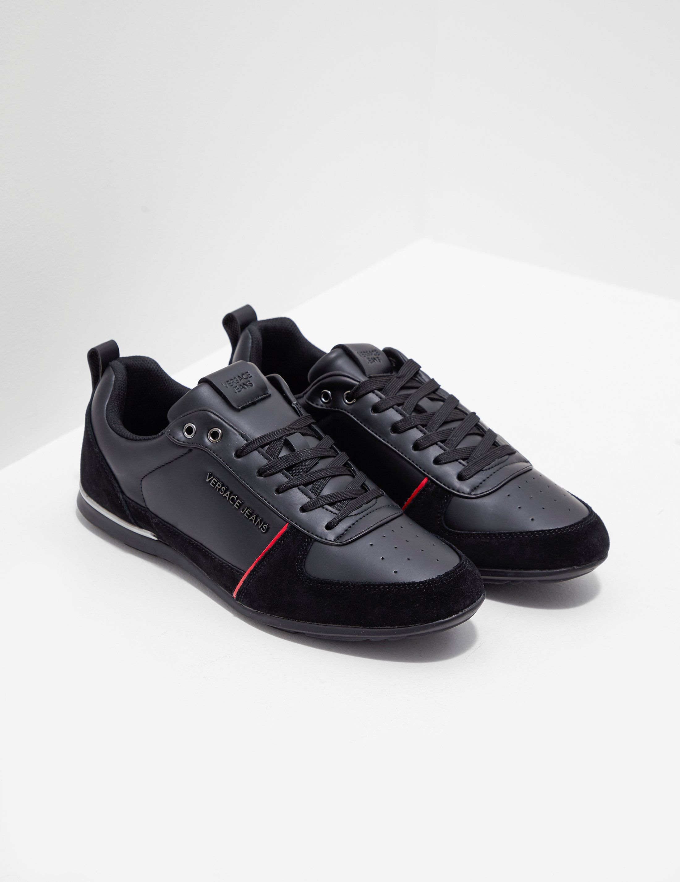 Versace Jeans Tommy Leather Trainers