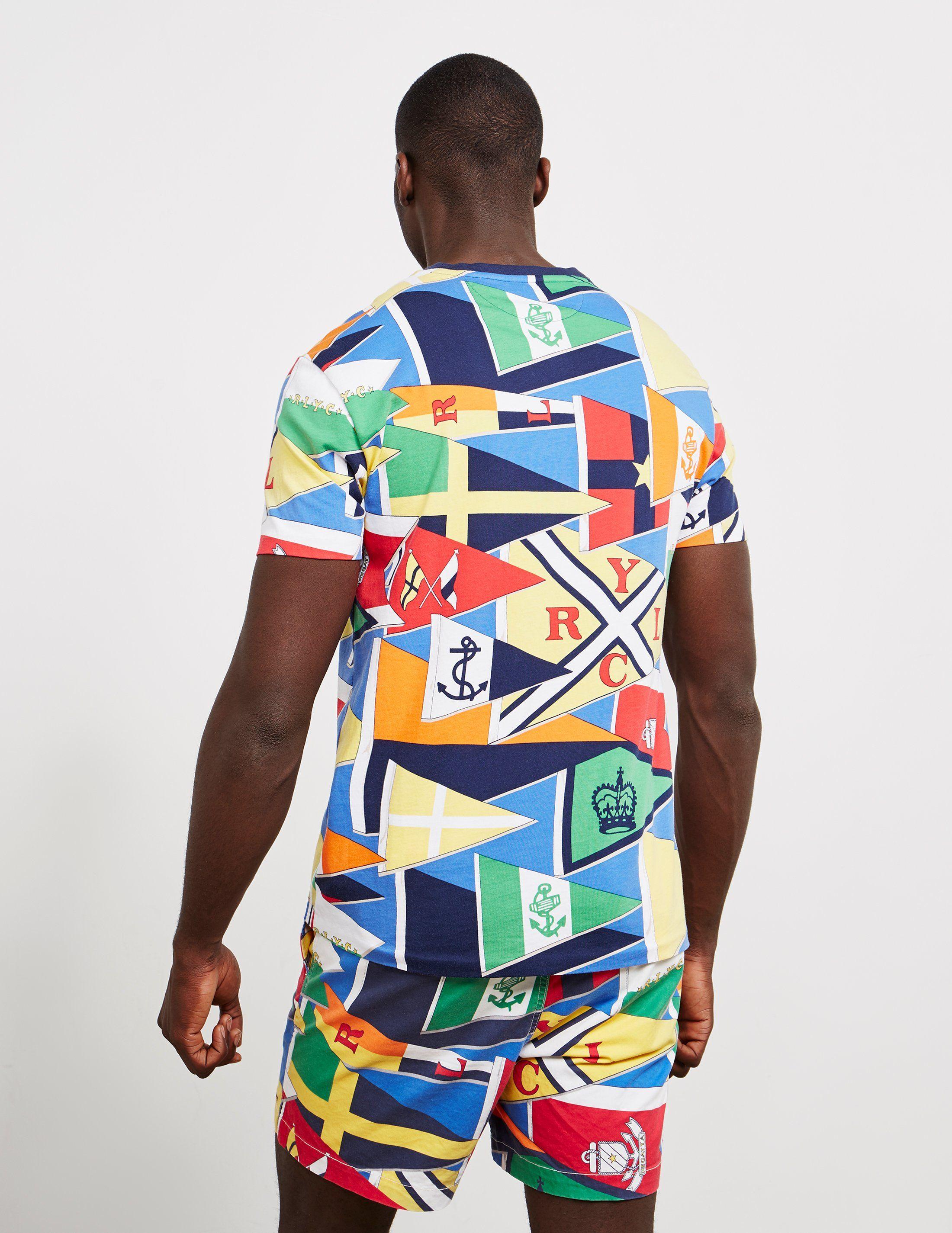 Polo Ralph Lauren Short Sleeve Burgee T-Shirt