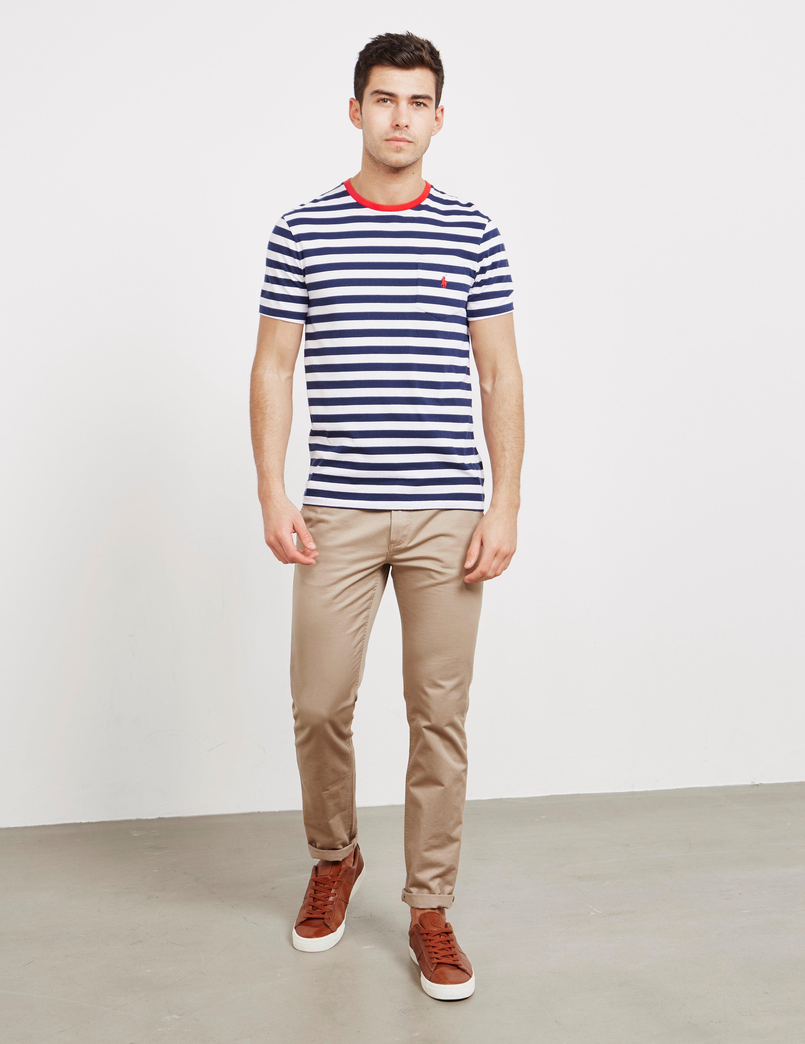 Polo Ralph Lauren Stripe Short Sleeve T-Shirt - Online Exclusive