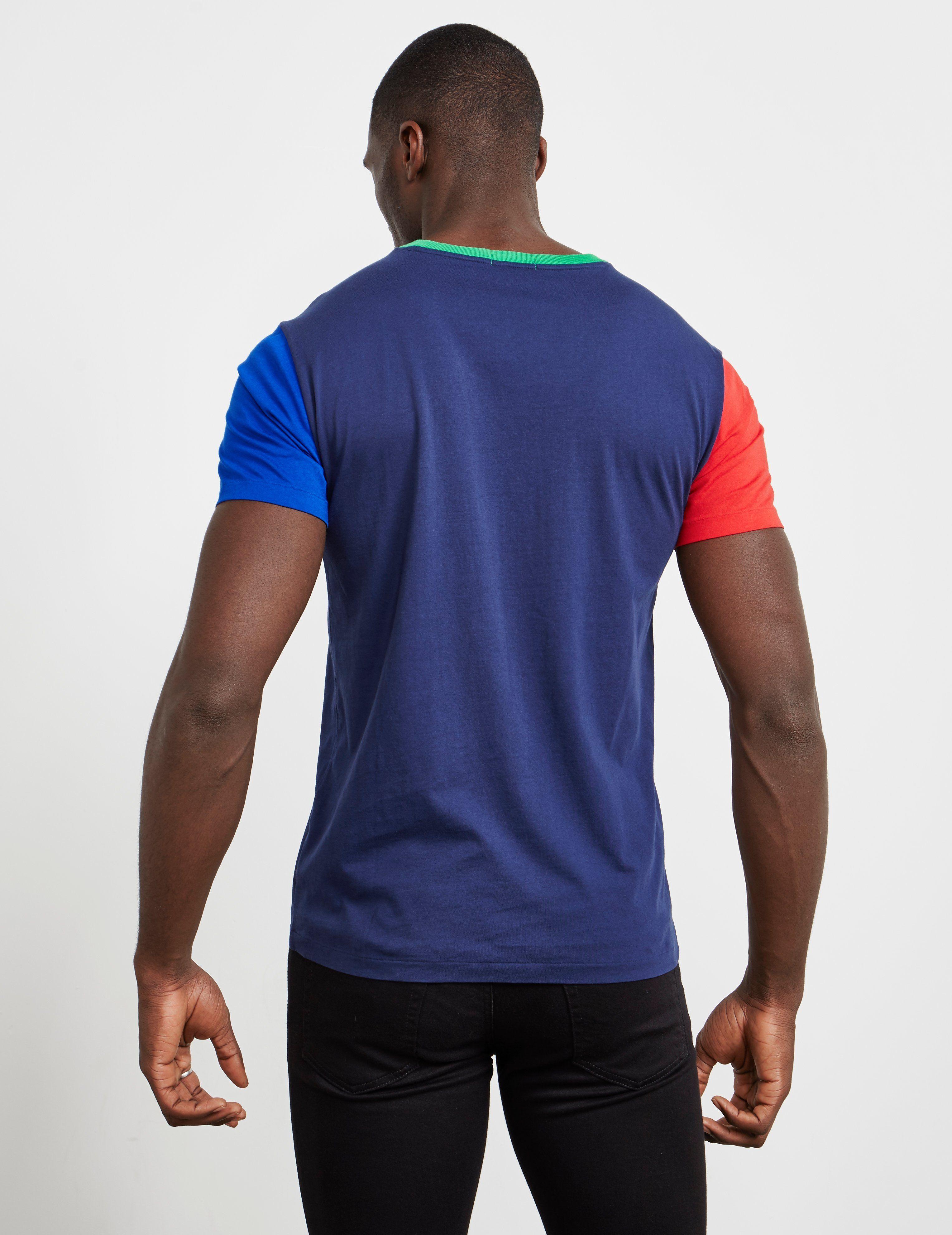 Polo Ralph Lauren Colour Block Short Sleeve T-Shirt - Exclusive