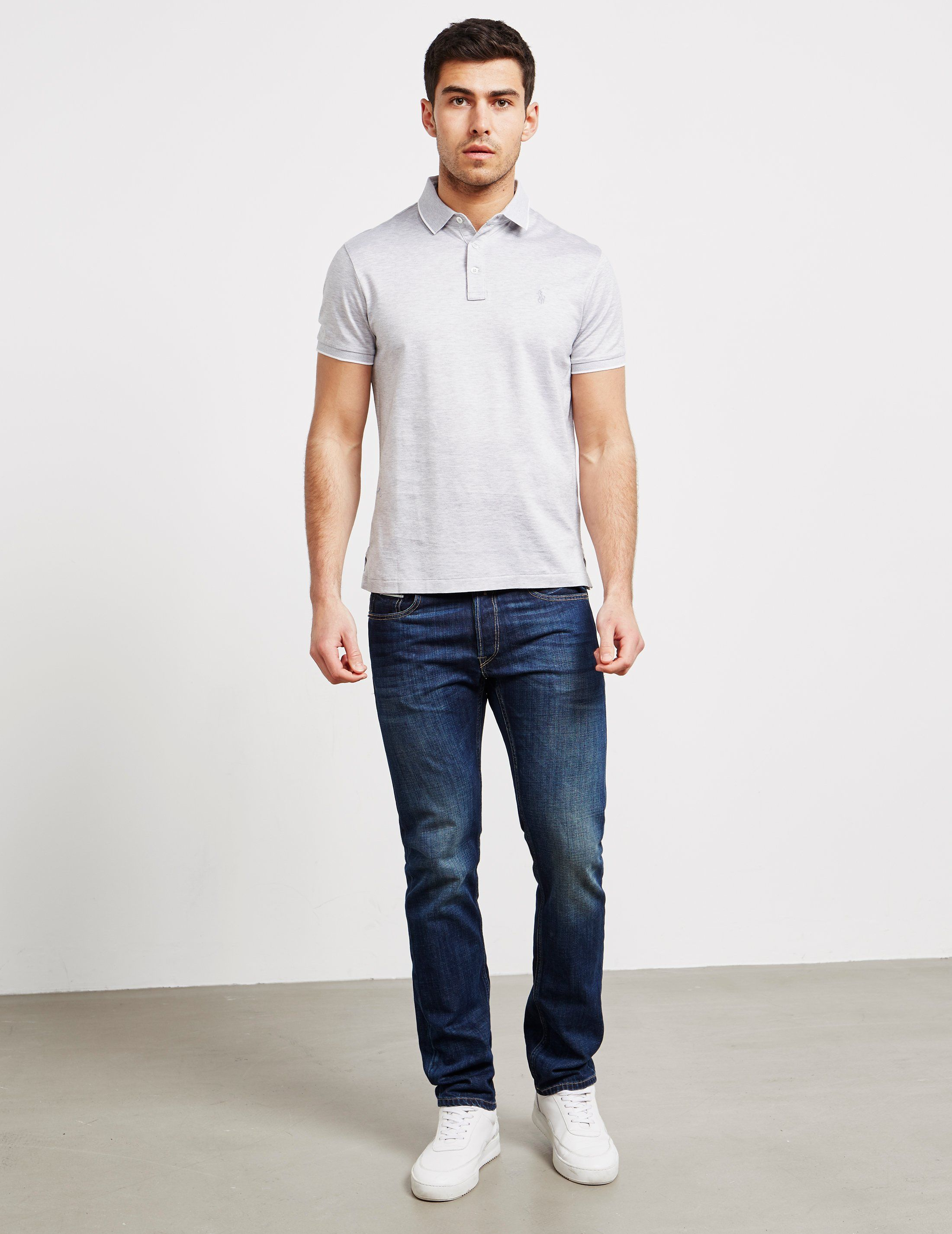 Polo Ralph Lauren Oxford Short Sleeve Polo Shirt