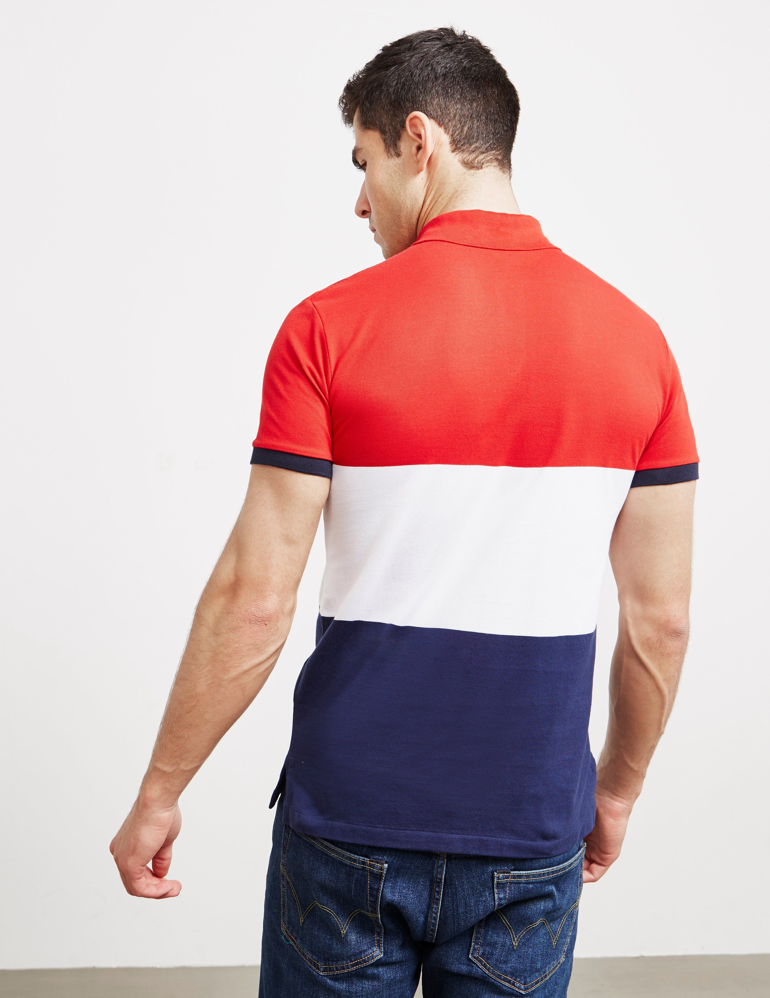 Polo Ralph Lauren Short Sleeve Block Polo Shirt
