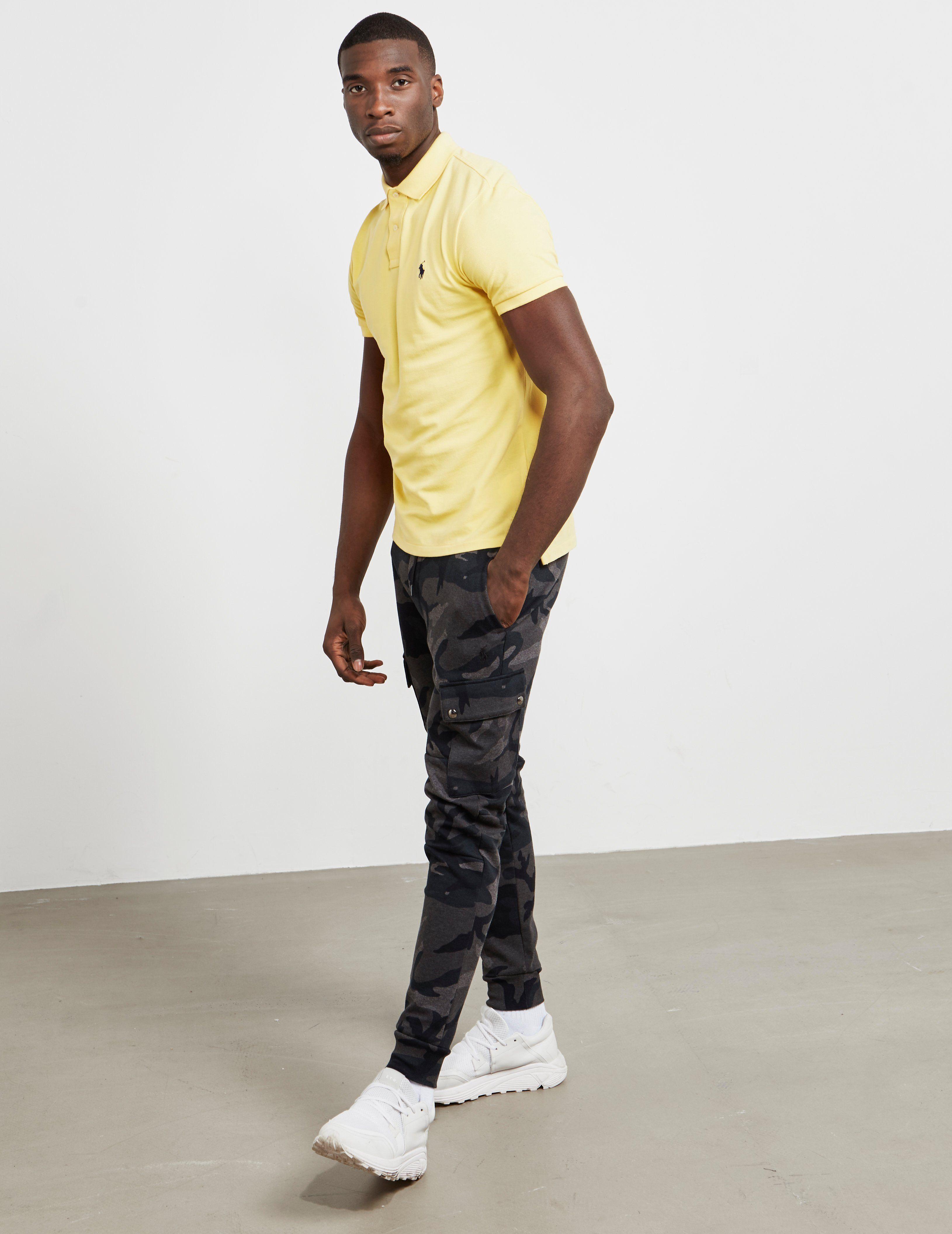 Polo Ralph Lauren Mesh Short Sleeve Polo Shirt