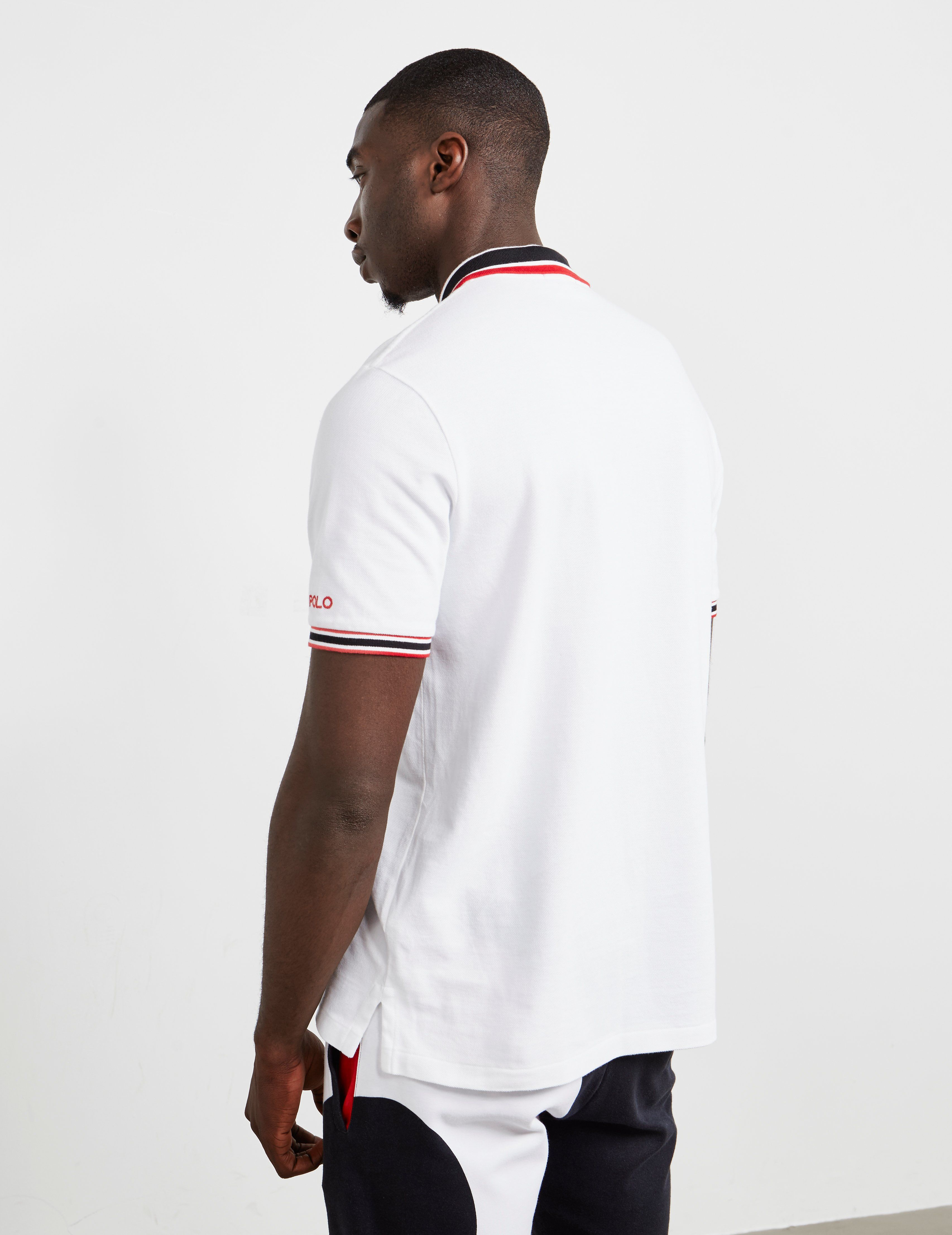Polo Ralph Lauren Embroidered Short Sleeve Polo Shirt