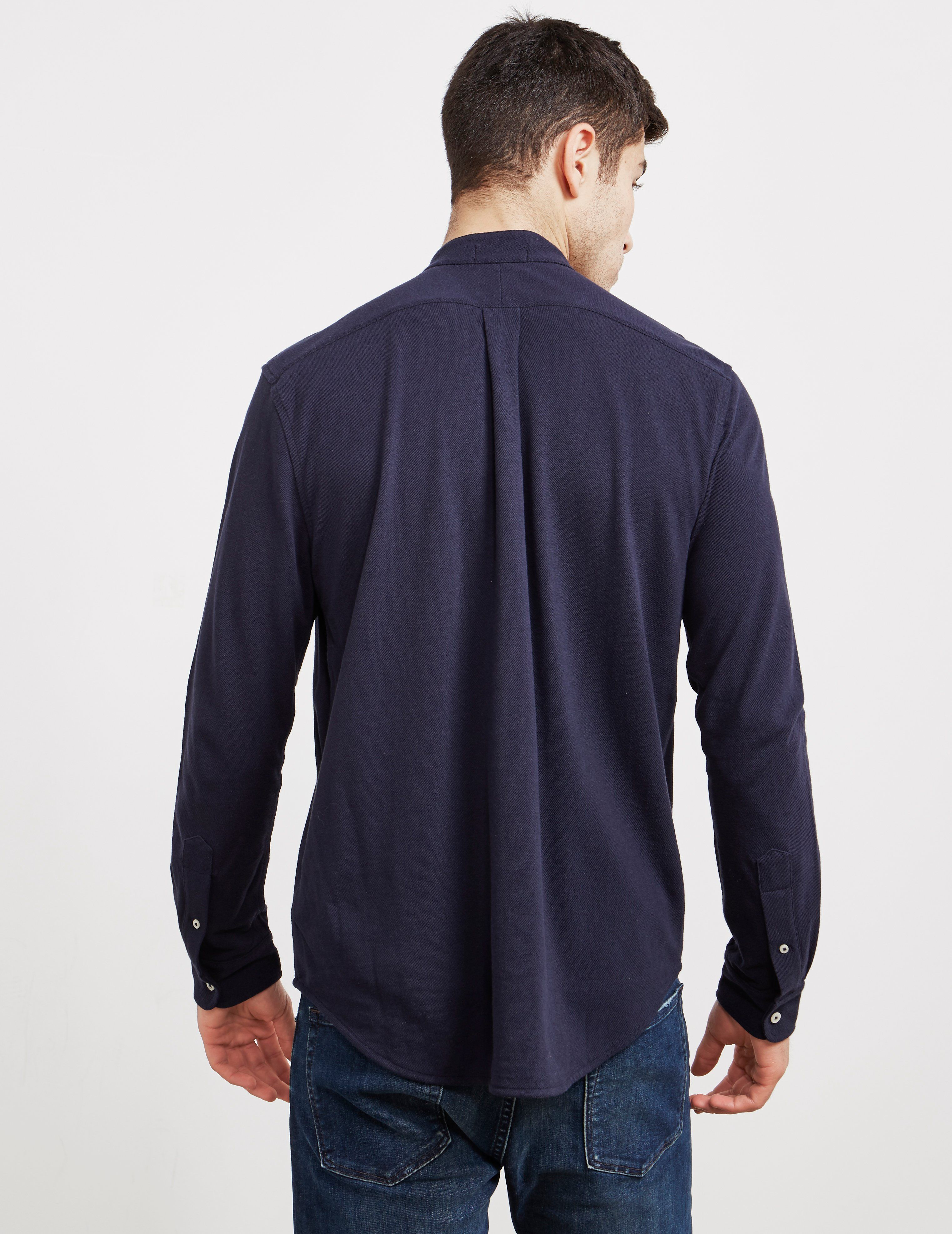 Polo Ralph Lauren Grandad Collar Long Sleeve Shirt - Exclusive