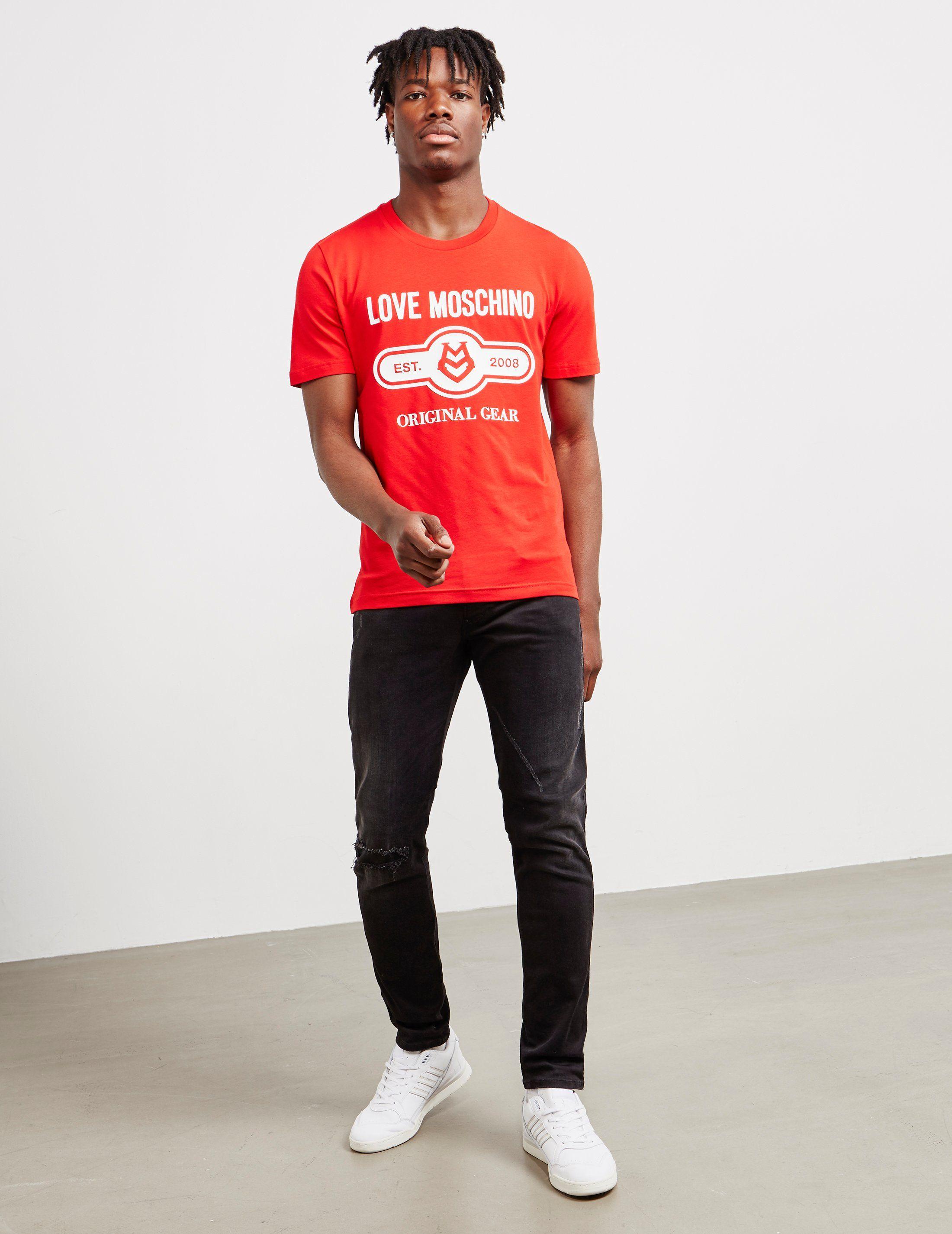 Love Moschino Pill Gear Short Sleeve T-Shirt
