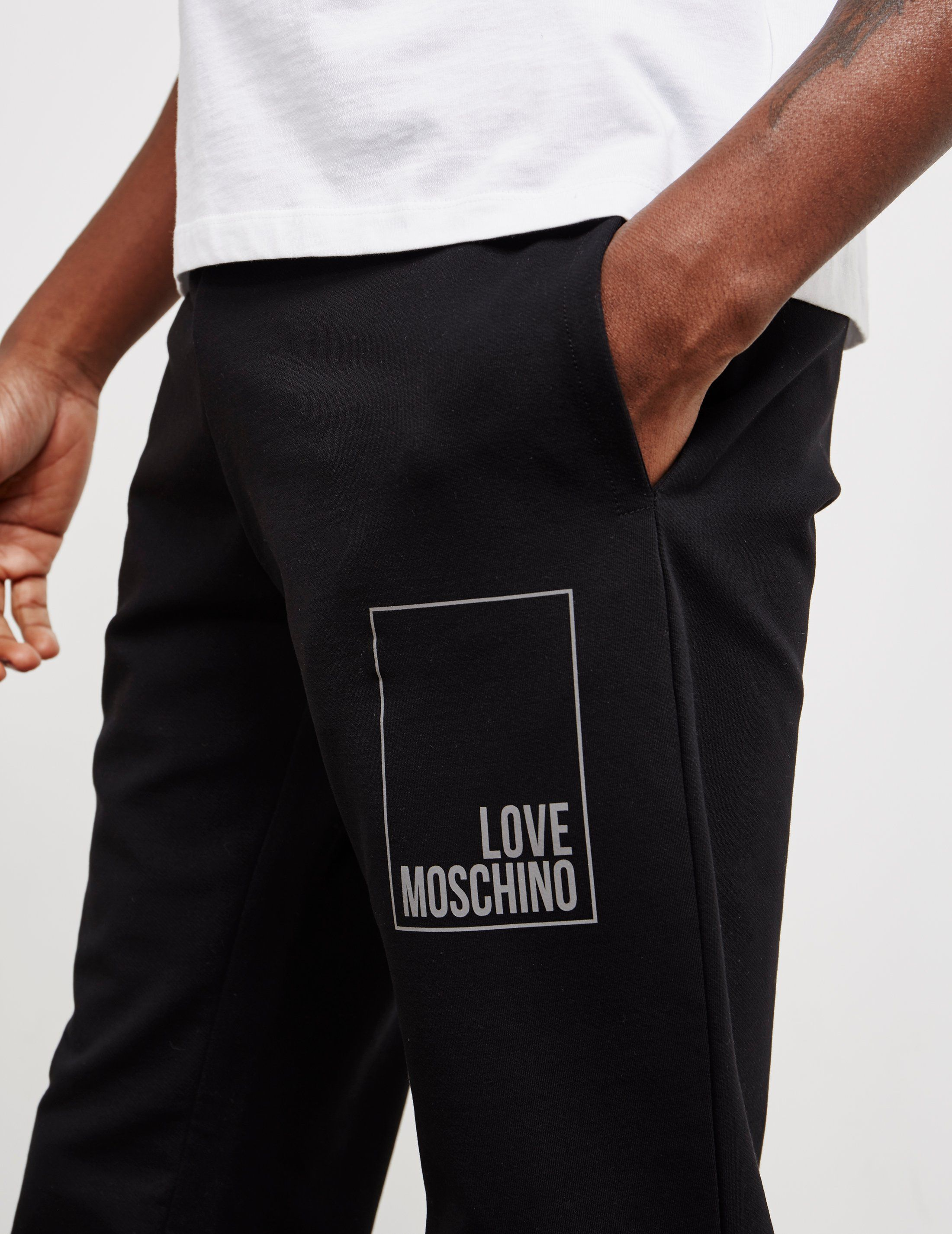 Love Moschino Reflective Box Track Pants