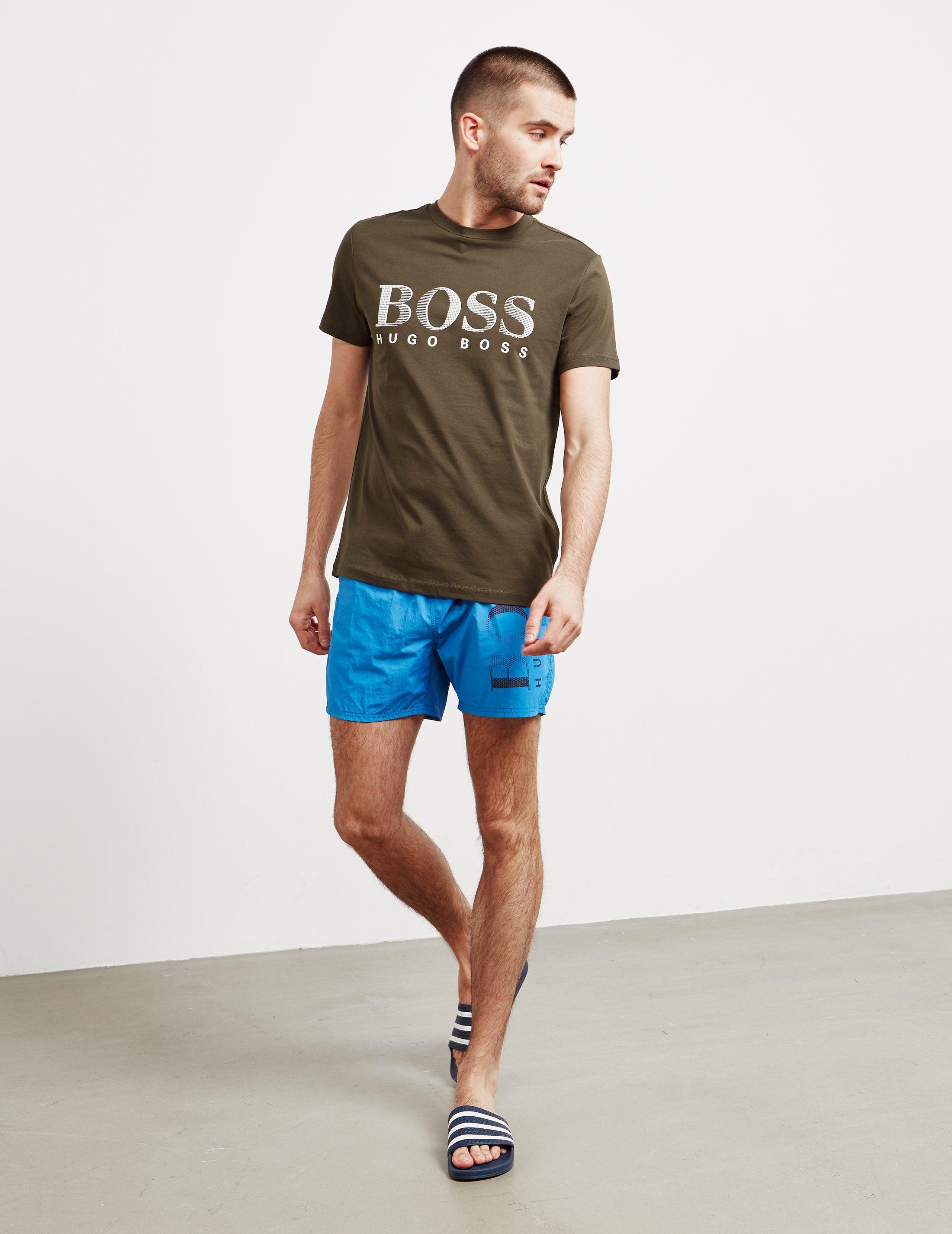 BOSS Core Logo Swim Shorts