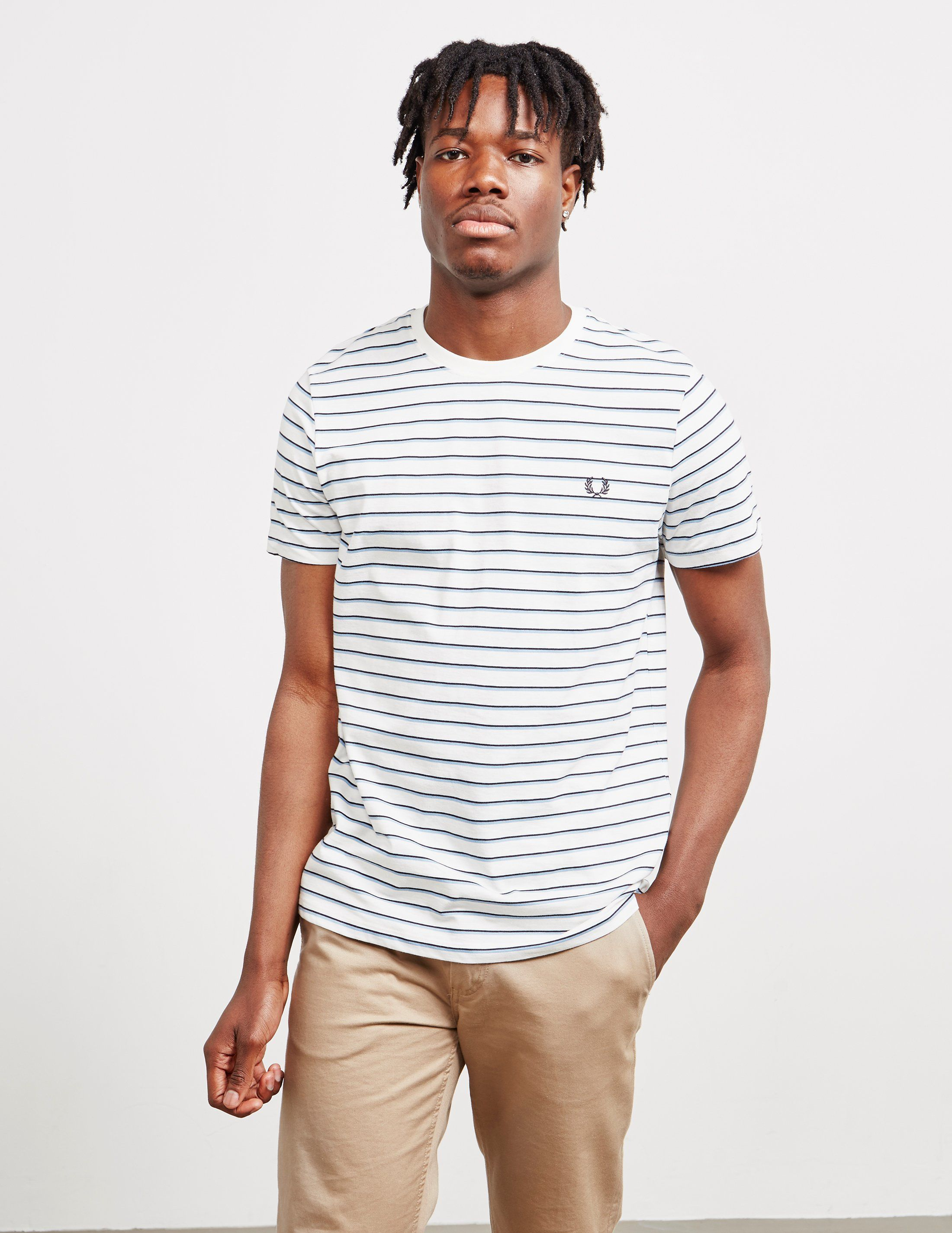 Fred Perry Fine Stripe Short Sleeve T-Shirt