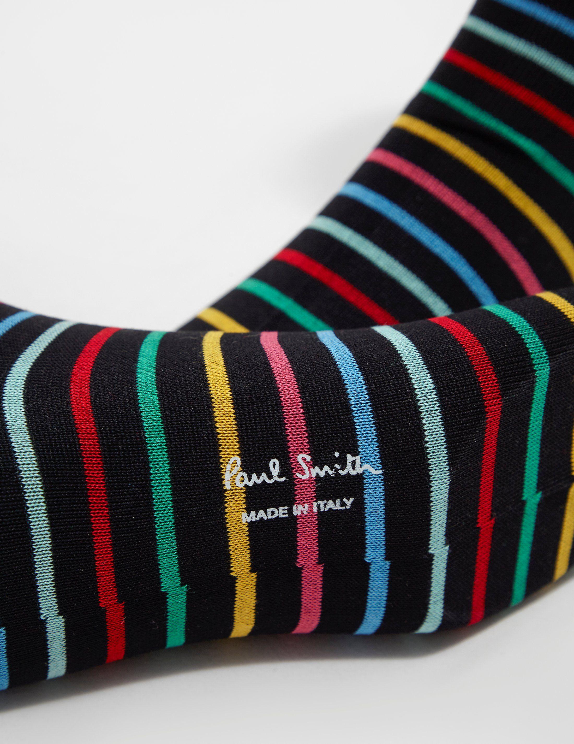 PS Paul Smith Rainbow Stripe Socks