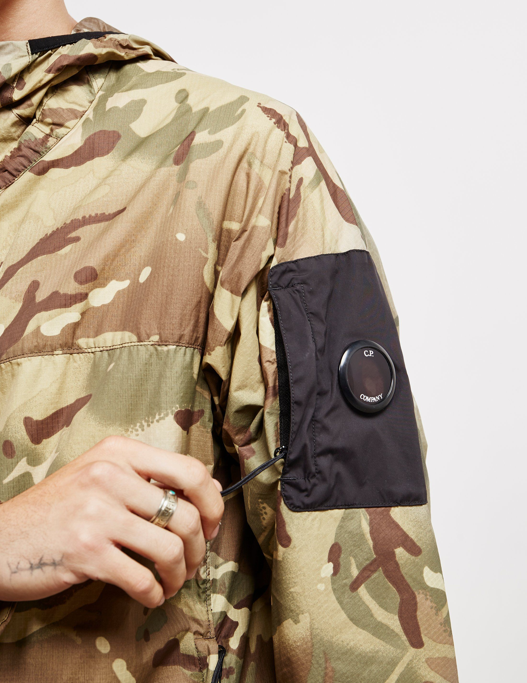 CP Company Camouflage Goggle Jacket