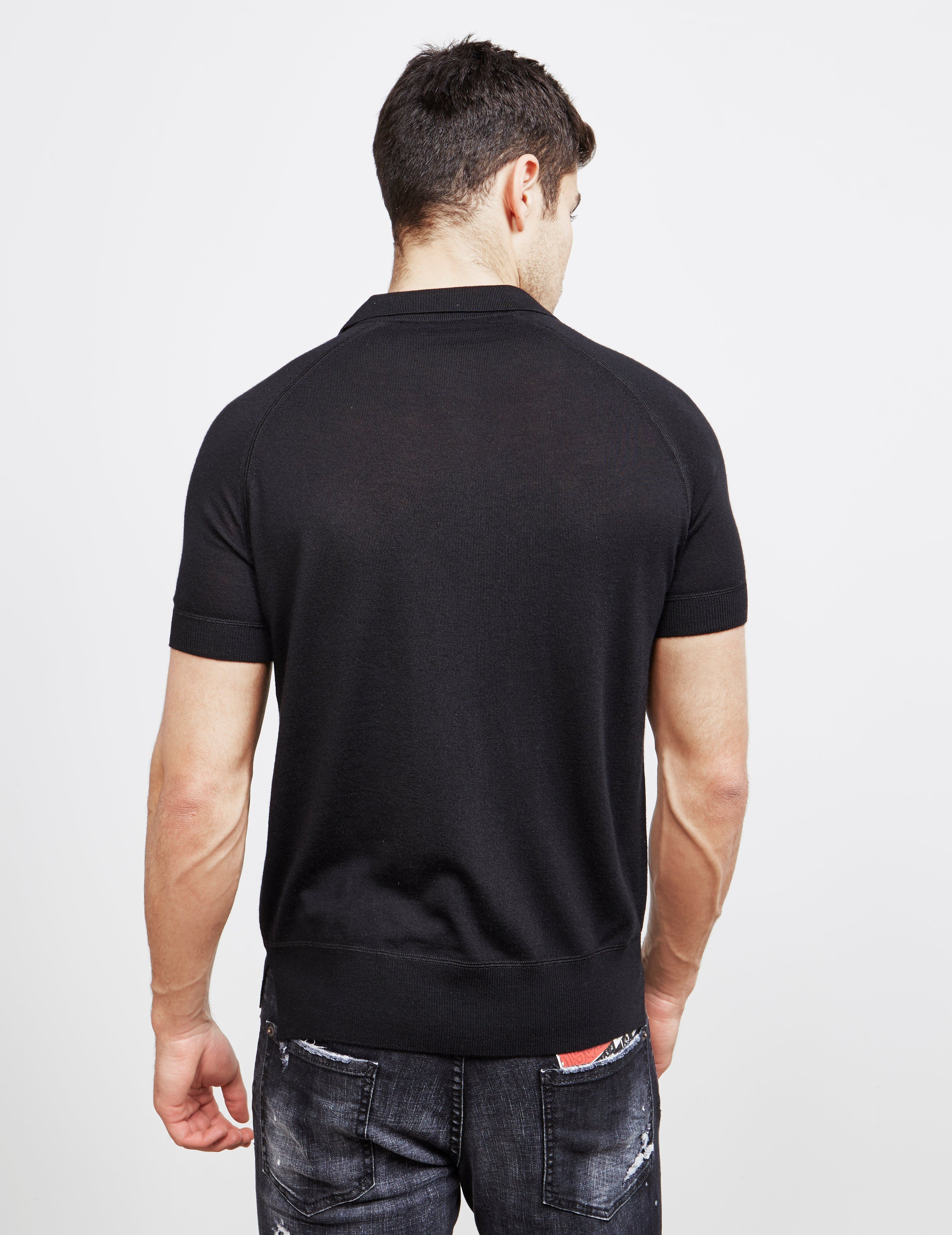 Dsquared2 Short Sleeve Knitted Polo Shirt - Online Exclusive