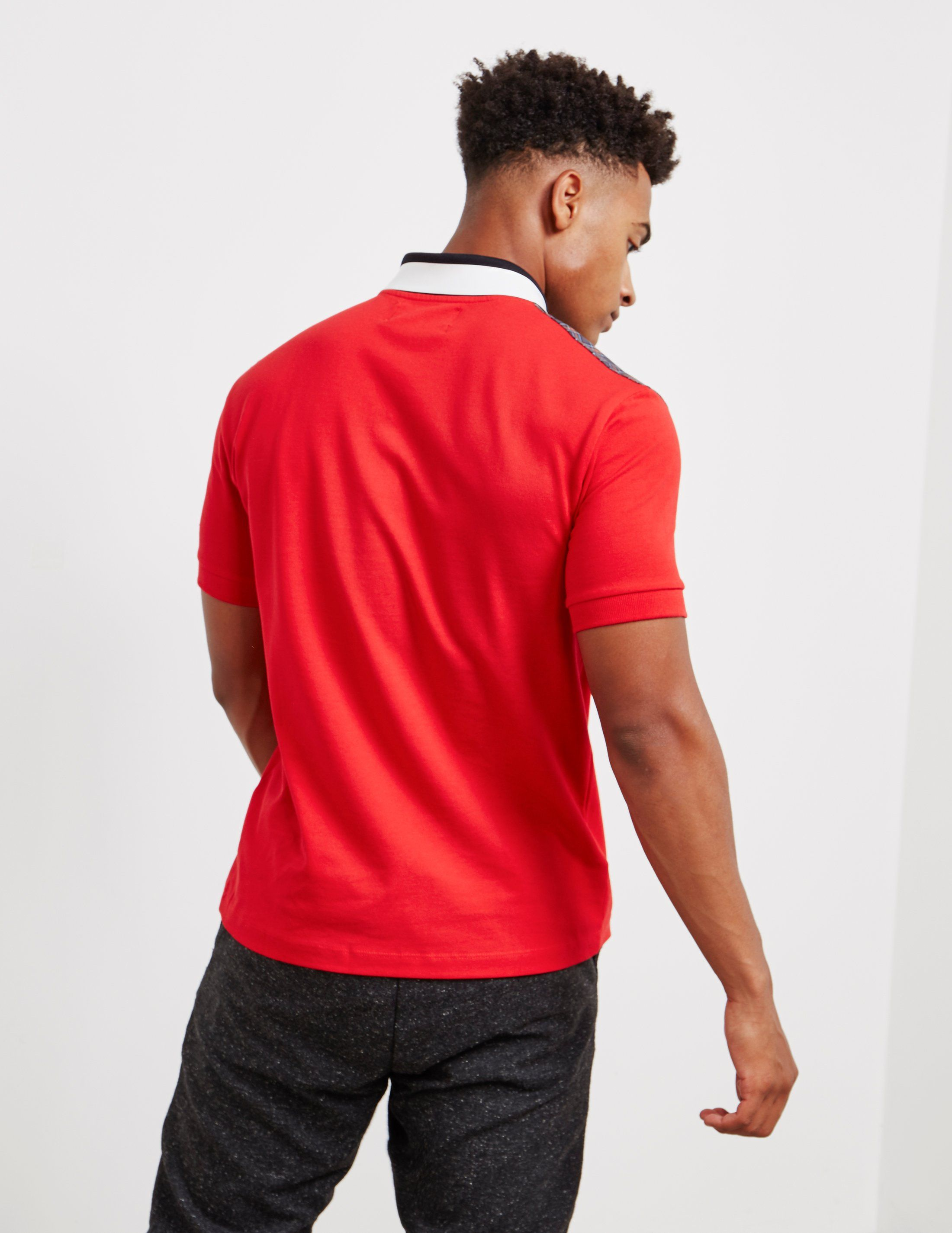 Fred Perry x Raf Simons Yoke Short Sleeve Polo Shirt