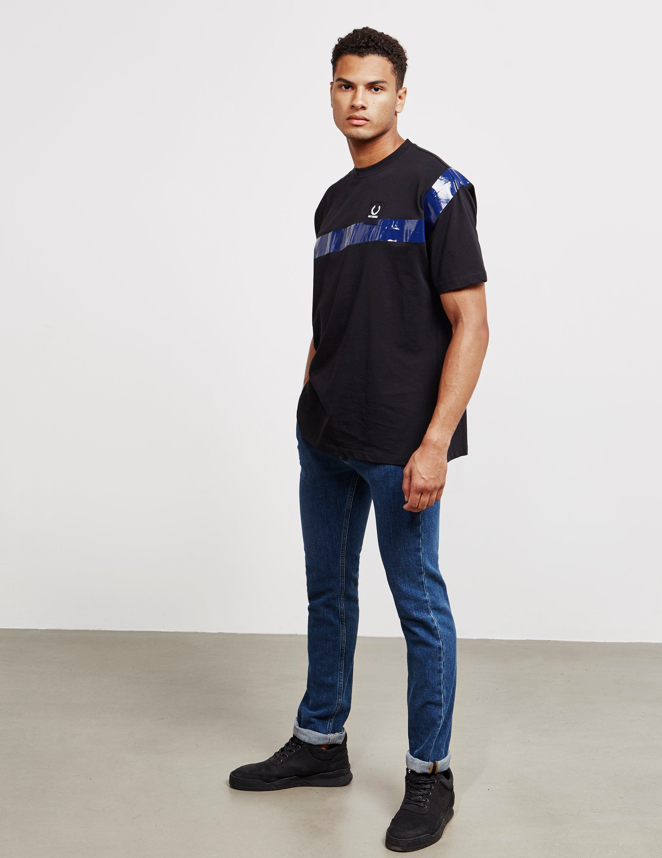 Fred Perry x Raf Simons Short Sleeve Tape T-Shirt