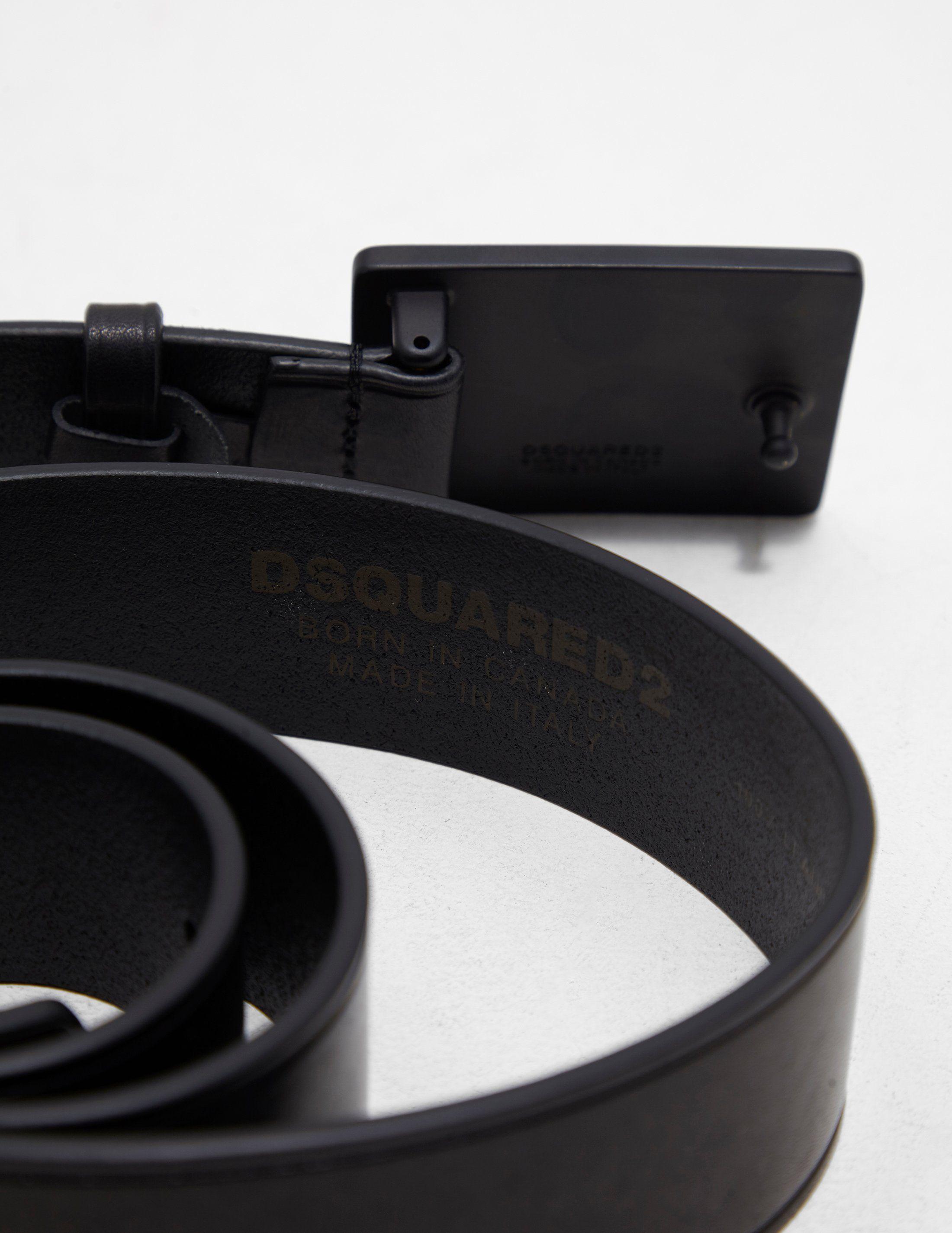 Dsquared2 Tonal Buckle Belt